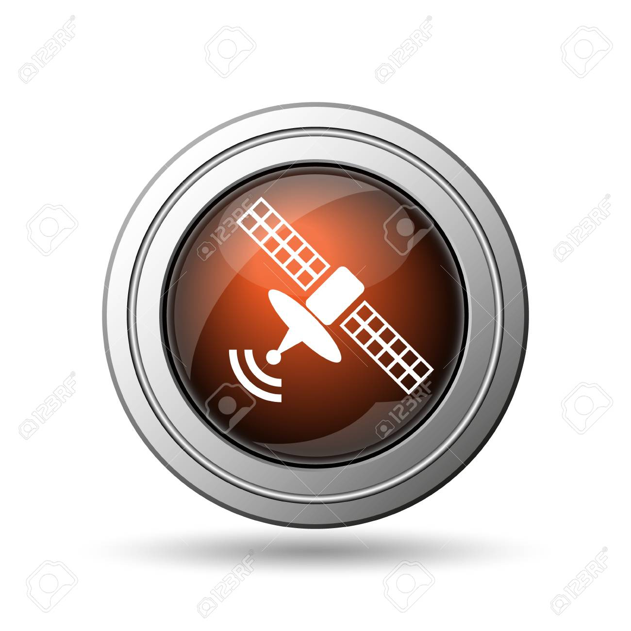 Antennensymbol. Internet-Taste Auf Weißem Hintergrund. Lizenzfreie ...