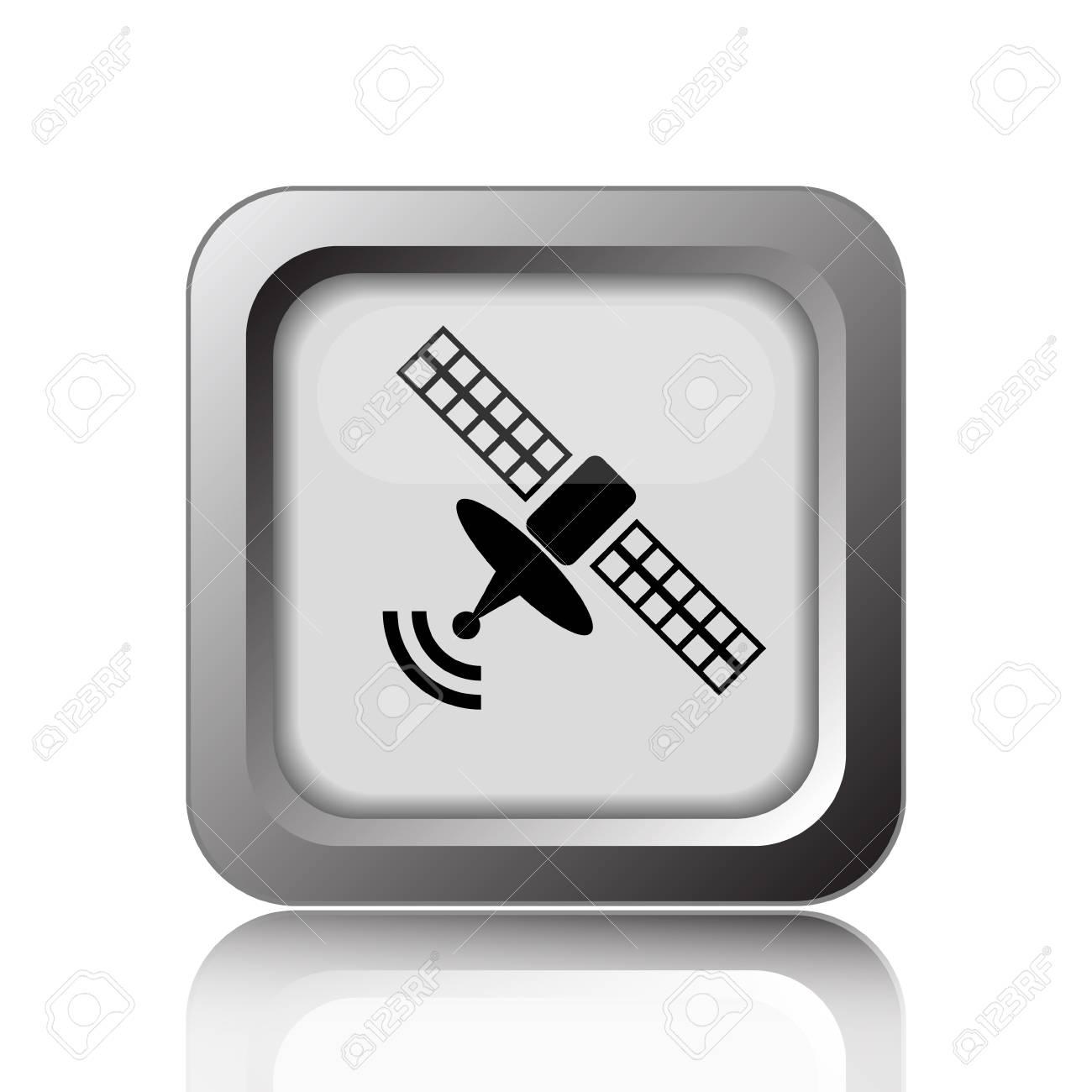 Antennensymbol. Internet-Taste Auf Weißen Hintergrund. Lizenzfreie ...
