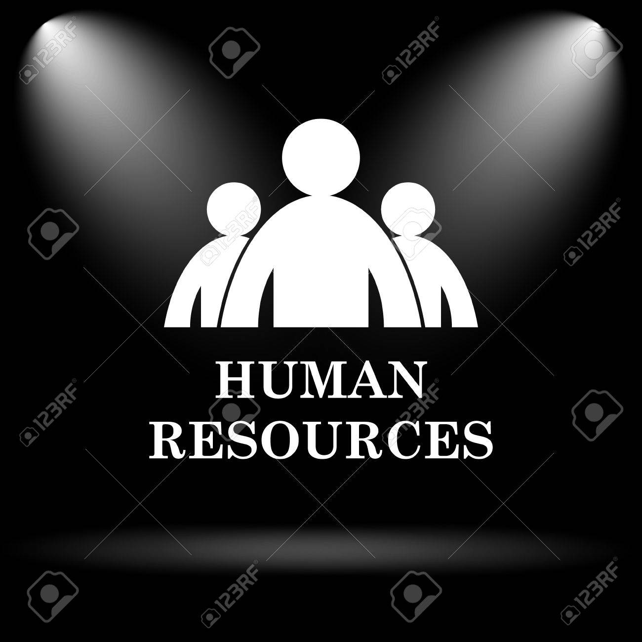 Human Resources Icon Internet Button On Black Background Stock Photo Picture And Royalty Free Image Image 45239987 Free icons of human in various ui design styles for web, mobile, and graphic design projects. human resources icon internet button on black background