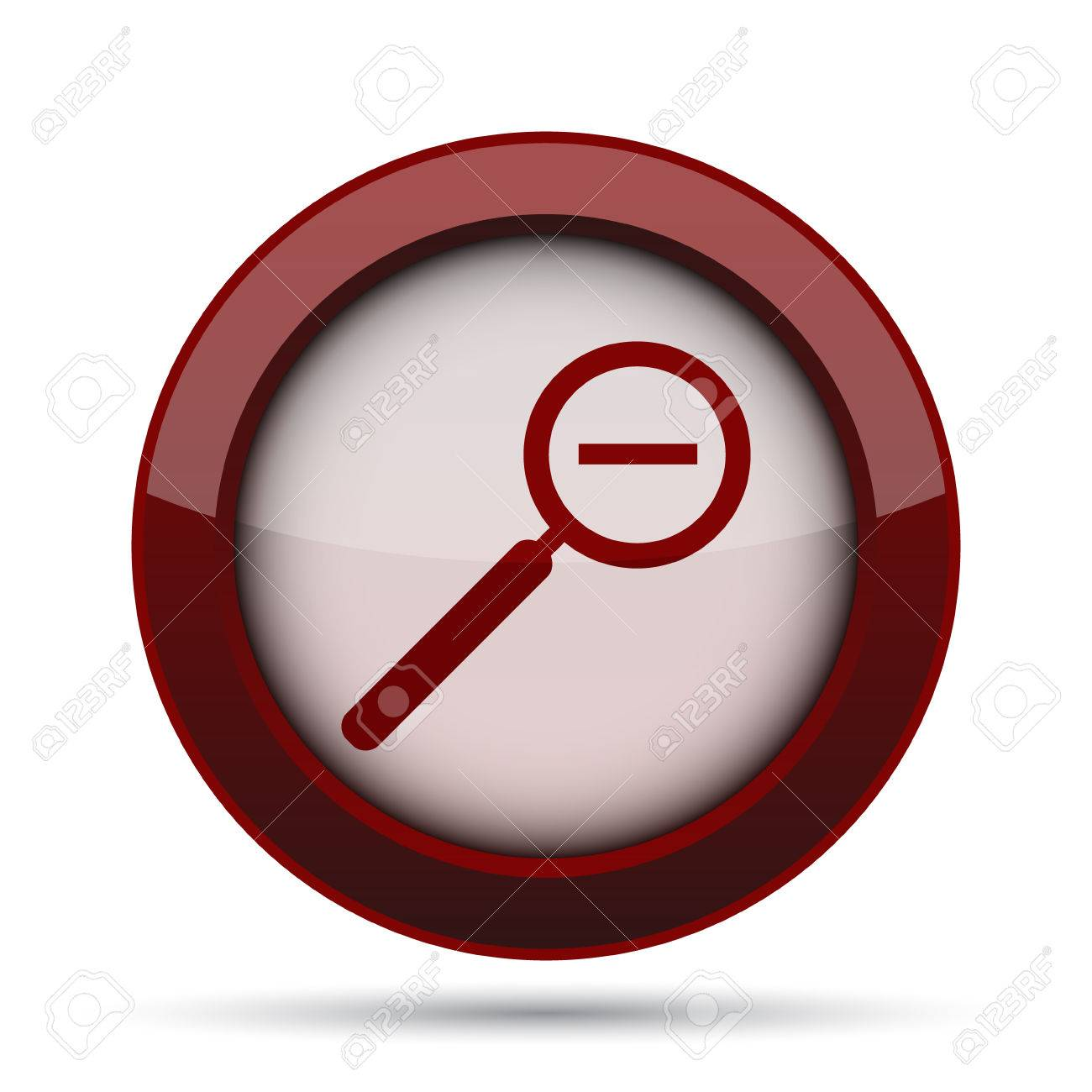 Background image zoom out - Stock Photo Zoom Out Icon Internet Button On White Background