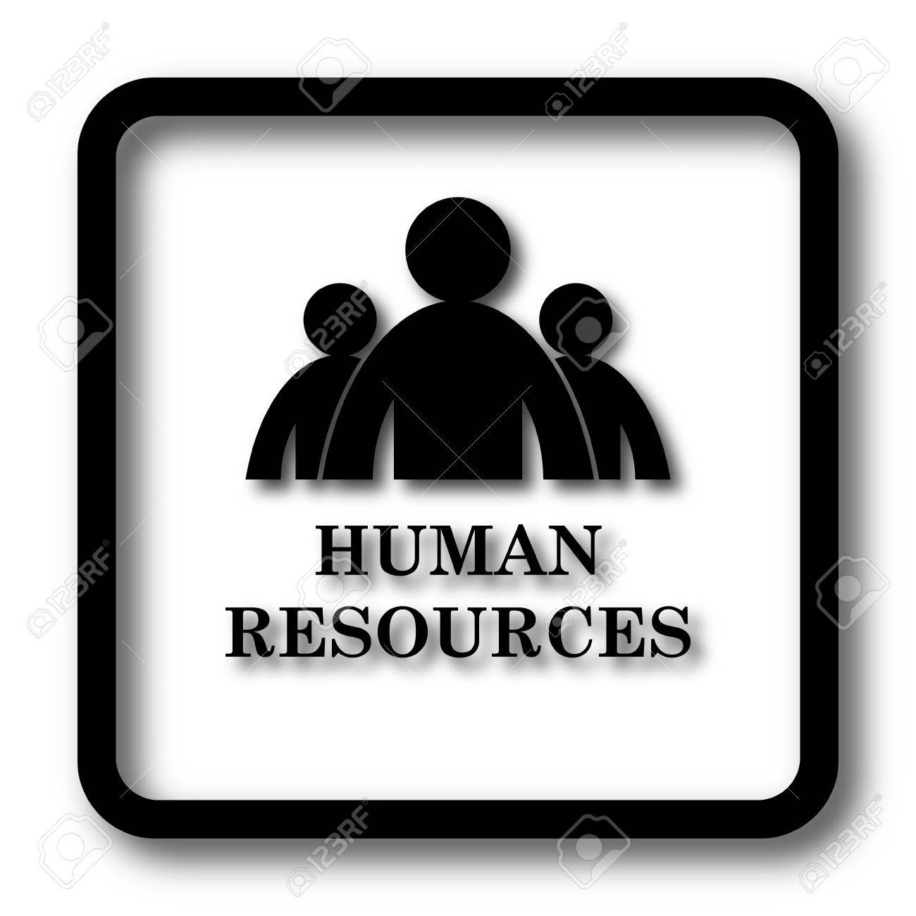 Human Resources Icon Black Website Button On White Background Stock Photo Picture And Royalty Free Image Image 67225126 Check mark icon design icon, black checkmark transparent background png clipart. human resources icon black website button on white background