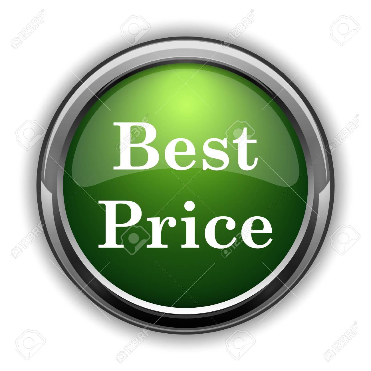 best price icon best price website button on white background