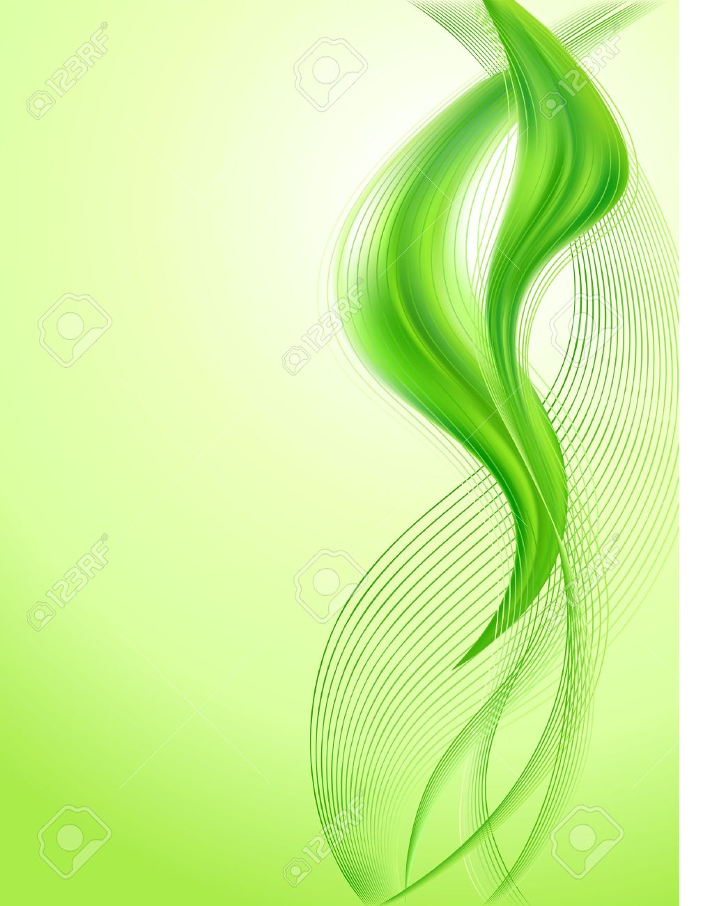Abstract green background Stock Vector - 13032772