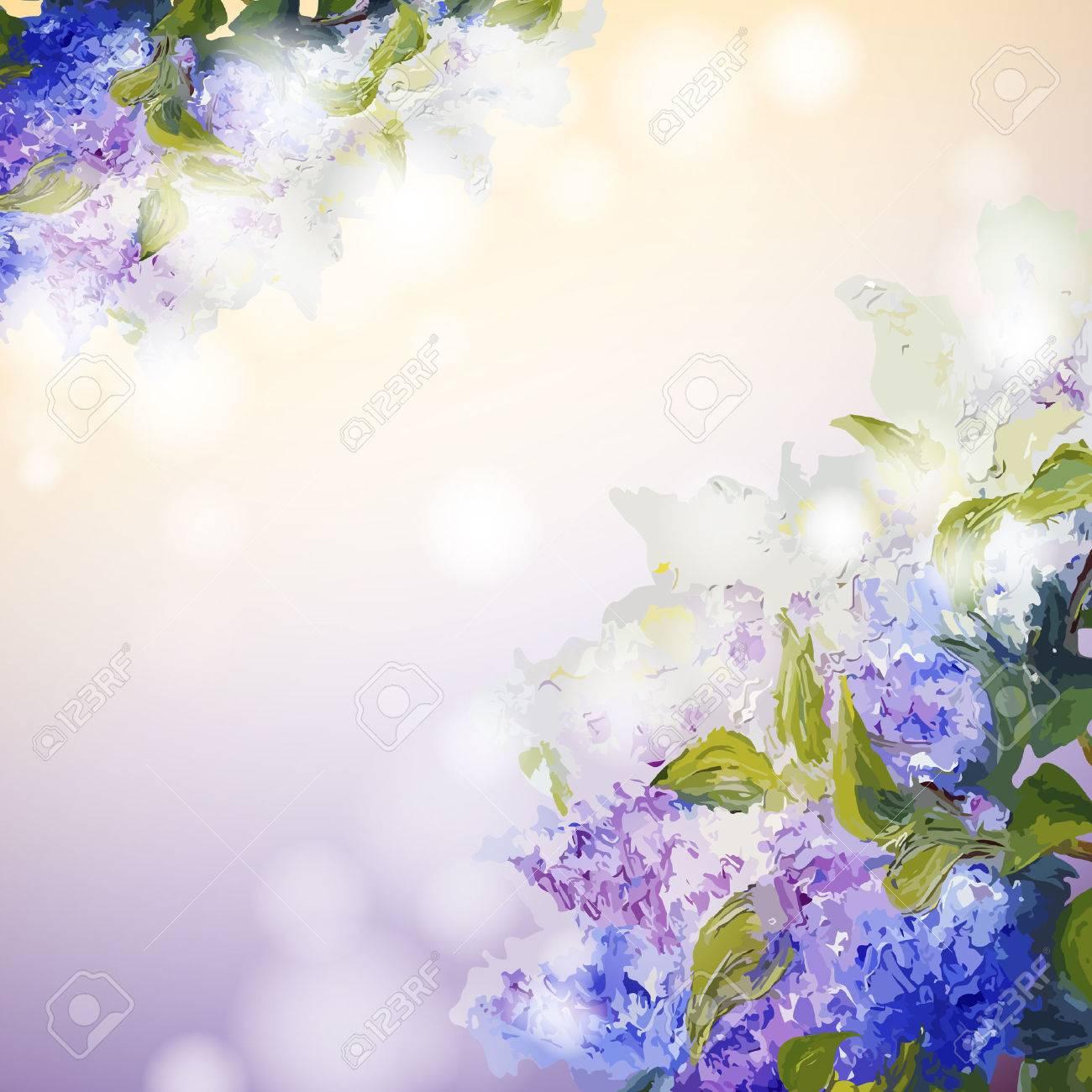 lila blumen hintergrund frhling blumen einladung vorlage karte lizenzfreie bilder with frhling vorlagen blumen