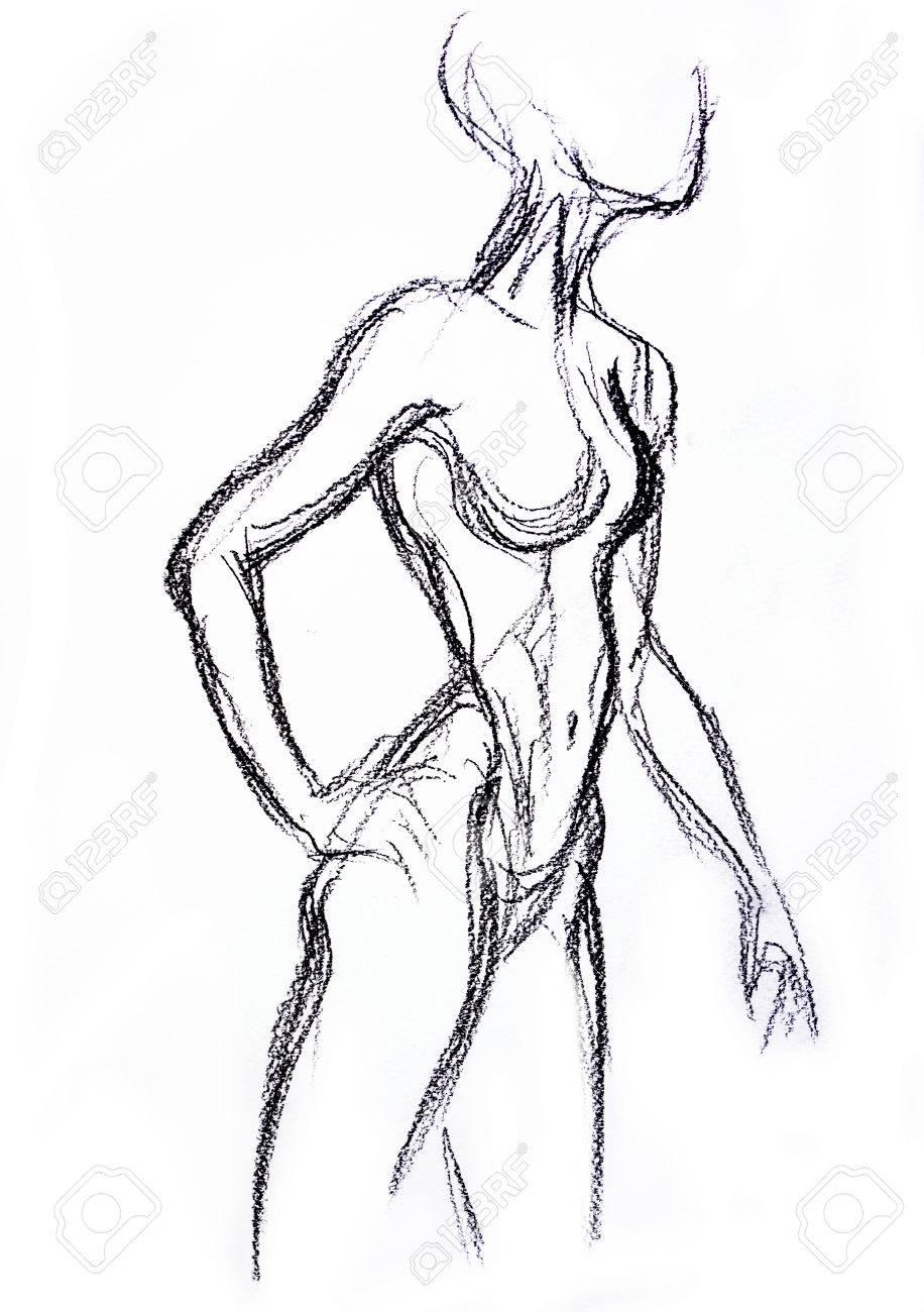 Dibujos de personas desnudas foto 90