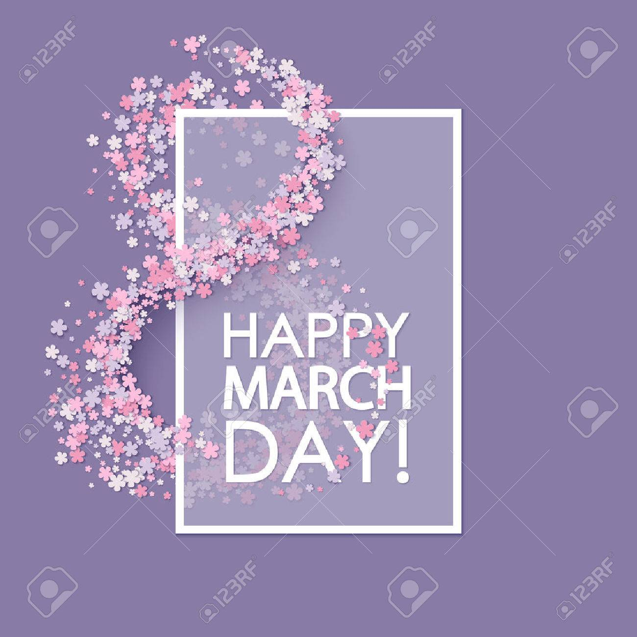Women day background with flowers - 50539461