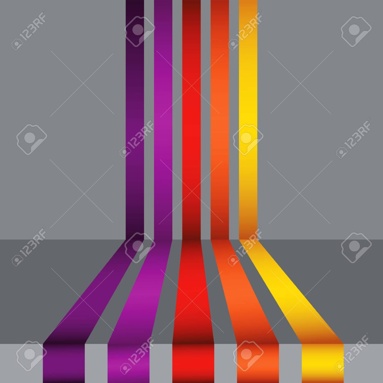 colorful illustration with abstract background for your design Stock Vector - 18254299