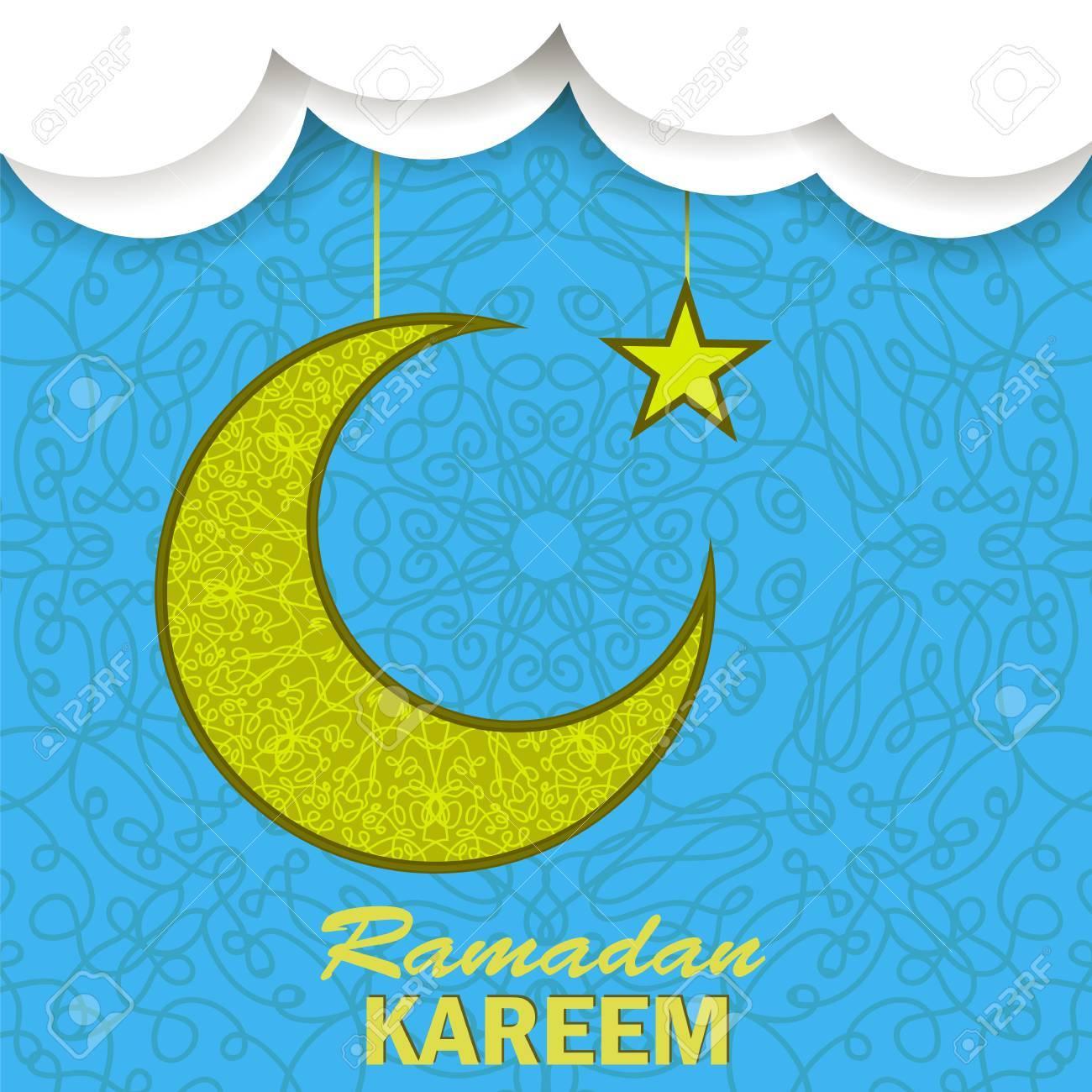 Ramadan greetings background ramadan kareem means ramadan the ramadan greetings background ramadan kareem means ramadan the generous month ramadan greeting card kristyandbryce Images
