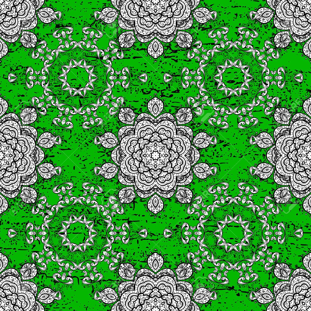 Rough Pattern For Adult Coloring Book. Ethnic, Floral, Retro ...