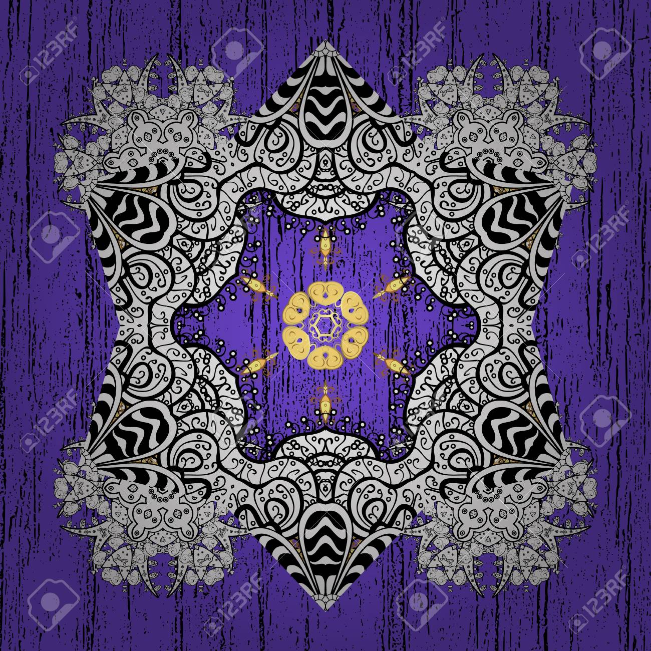 Vector illustration medieval floral royal pattern good for vector vector illustration medieval floral royal pattern good for greeting card for birthday invitation or banner decorative symmetry arabesque stopboris Image collections