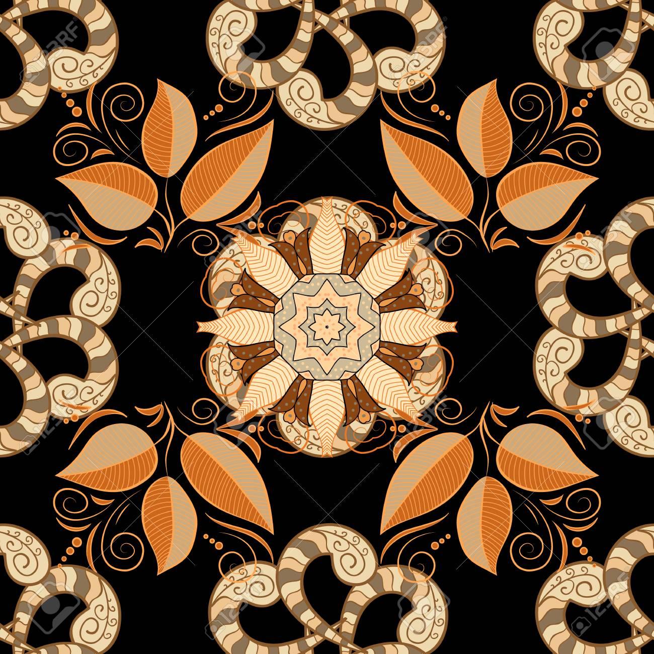 Bocetos De Tatuajes Tradicionales estilo indio tradicional, elementos florales ornamentales para el tatuaje  de la alheña, etiquetas engomadas coloreadas, tatuaje temporal de destello,