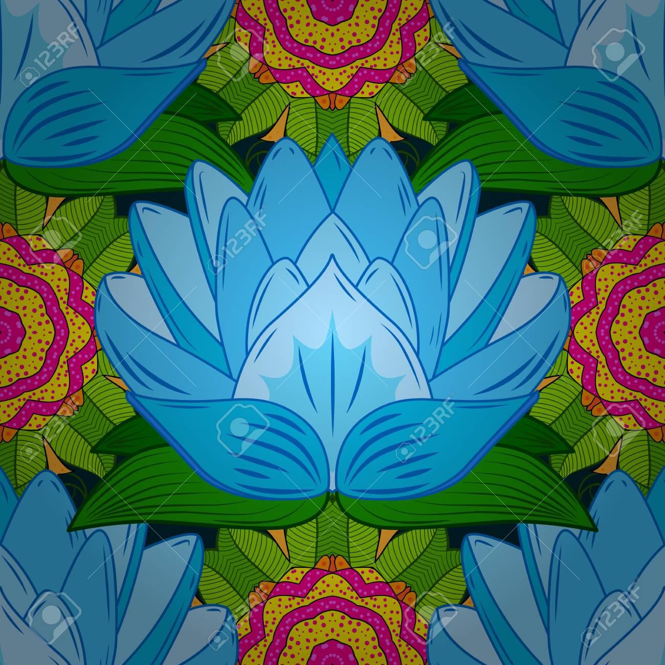 Patron Sin Fisuras Con Motivos Florales Patron Floral Transparente