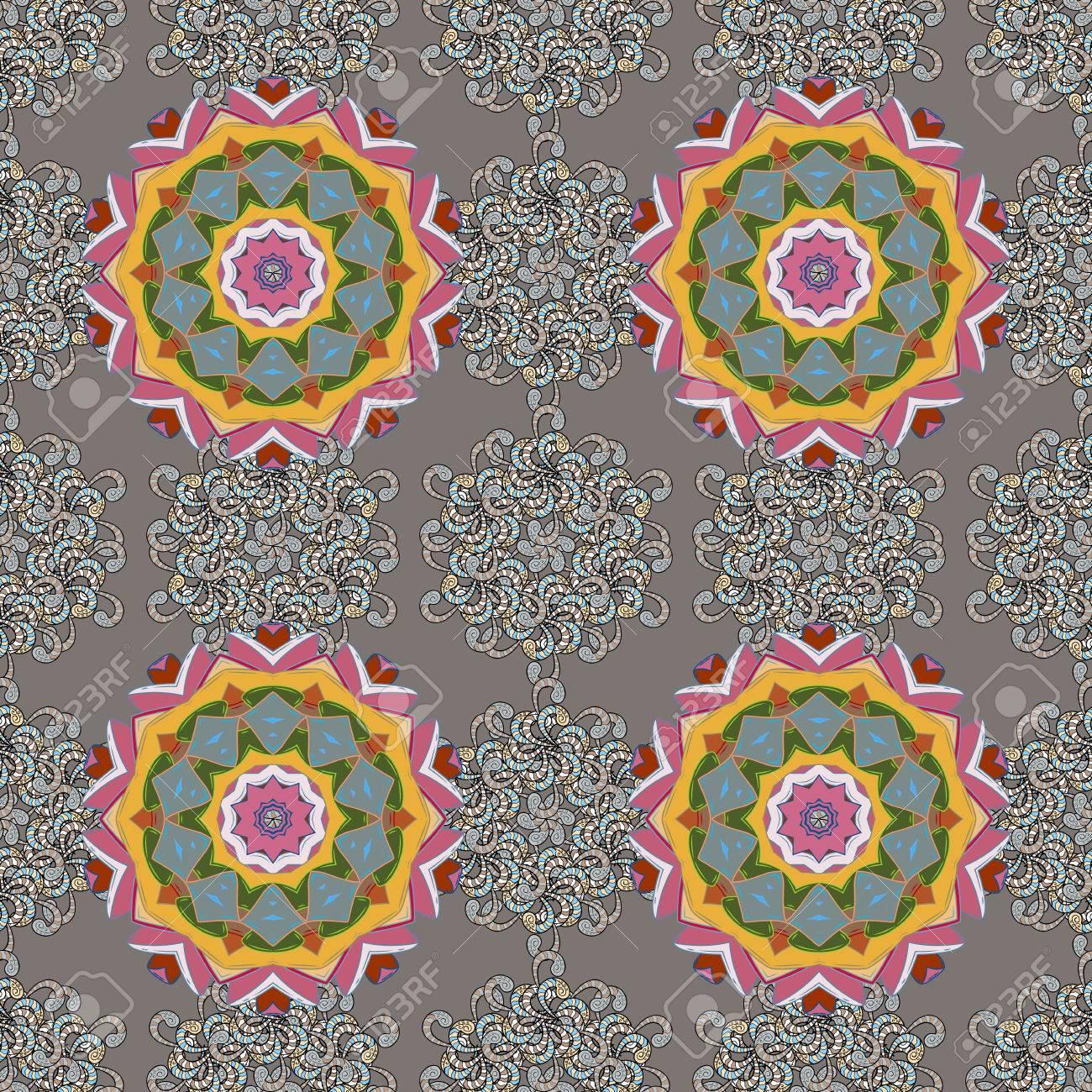 Seamless pattern mehndi floral lace of buta decoration items seamless pattern mehndi floral lace of buta decoration items on background vector floral wedding decorative junglespirit Choice Image