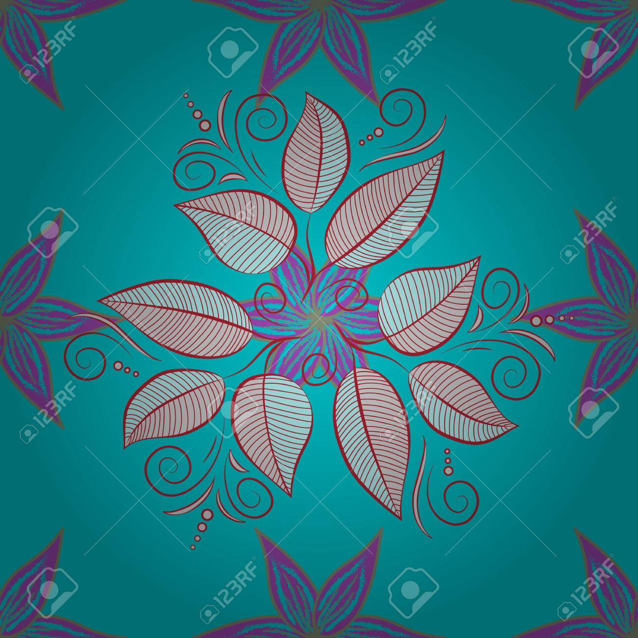 Exceptional The Elegant The Template For Fashion Prints. Modern Floral Background.  Amazing Seamless Floral Pattern