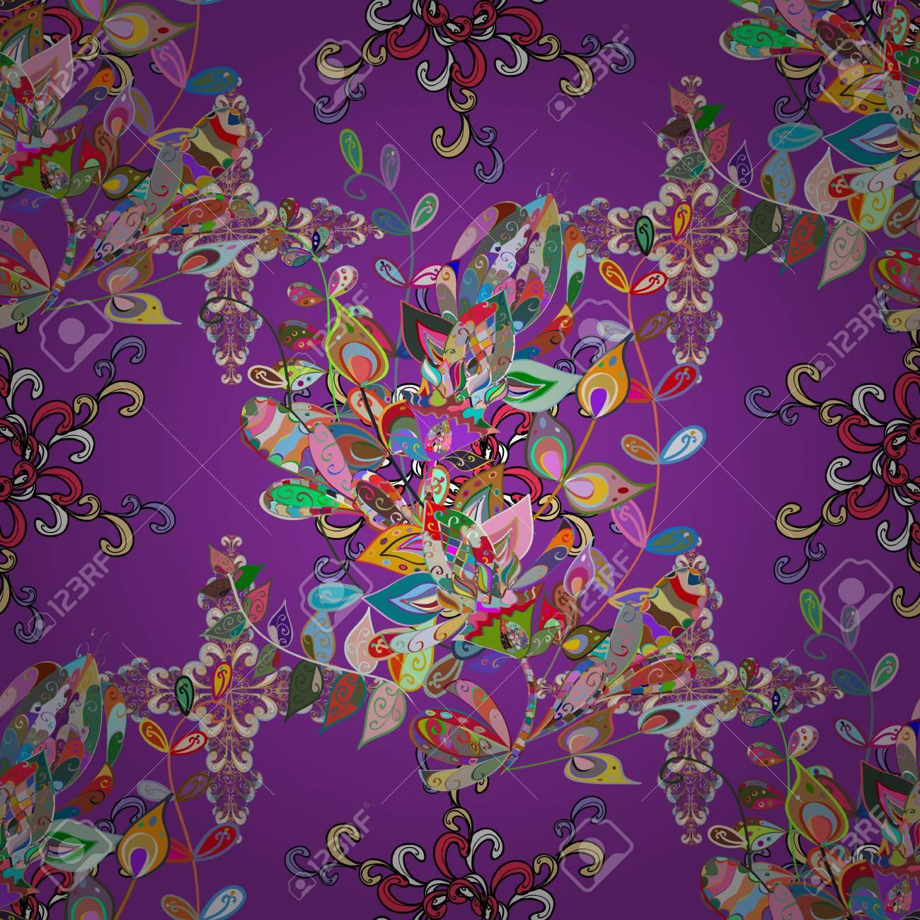 Patrón Floral Para Invitaciones De Boda Tarjetas De Felicitación Scrapbooking Impresión Papel De Regalo Editable Elegante Diseño Inconsútil Con