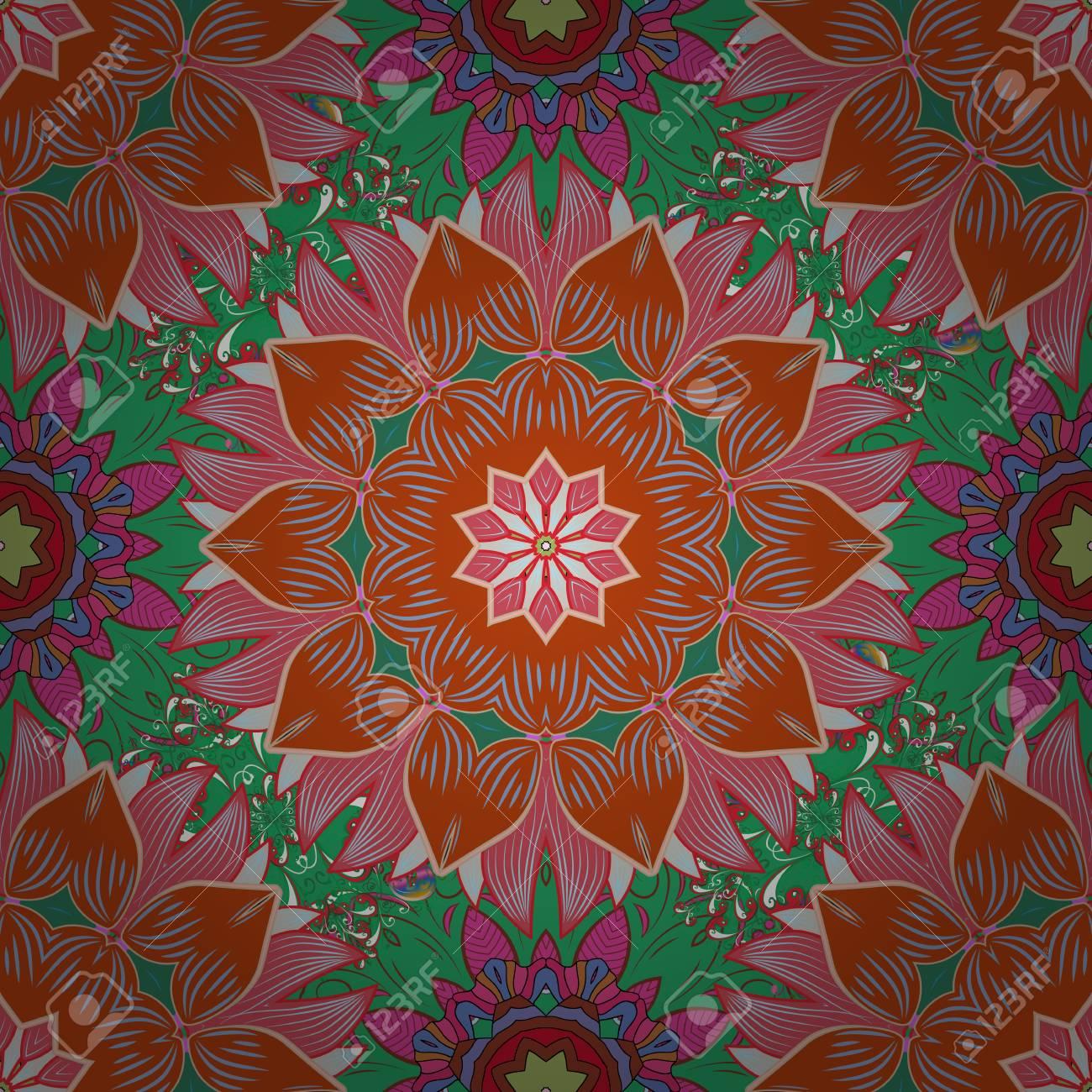 Patrón Floral Para Invitaciones De Boda Tarjetas De Felicitación Impresión Papel De Regalo Fabricación Editable Elegante Diseño Inconsútil Con
