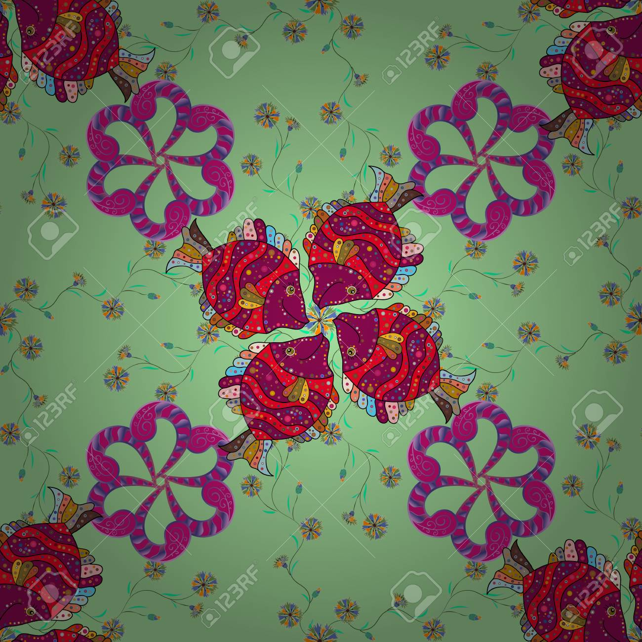 Superb The Elegant The Template For Fashion Prints. Modern Floral Background.  Amazing Seamless Floral Pattern