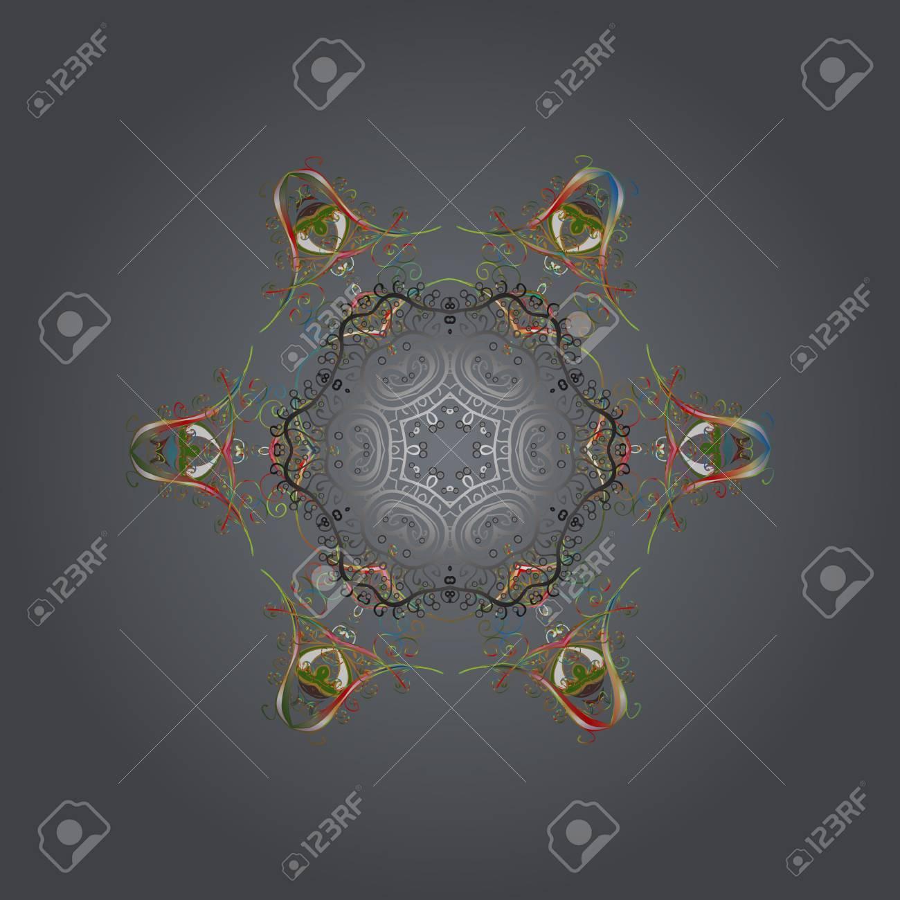 Symbol Of Celebration For Christmas Design Snowflake Winter