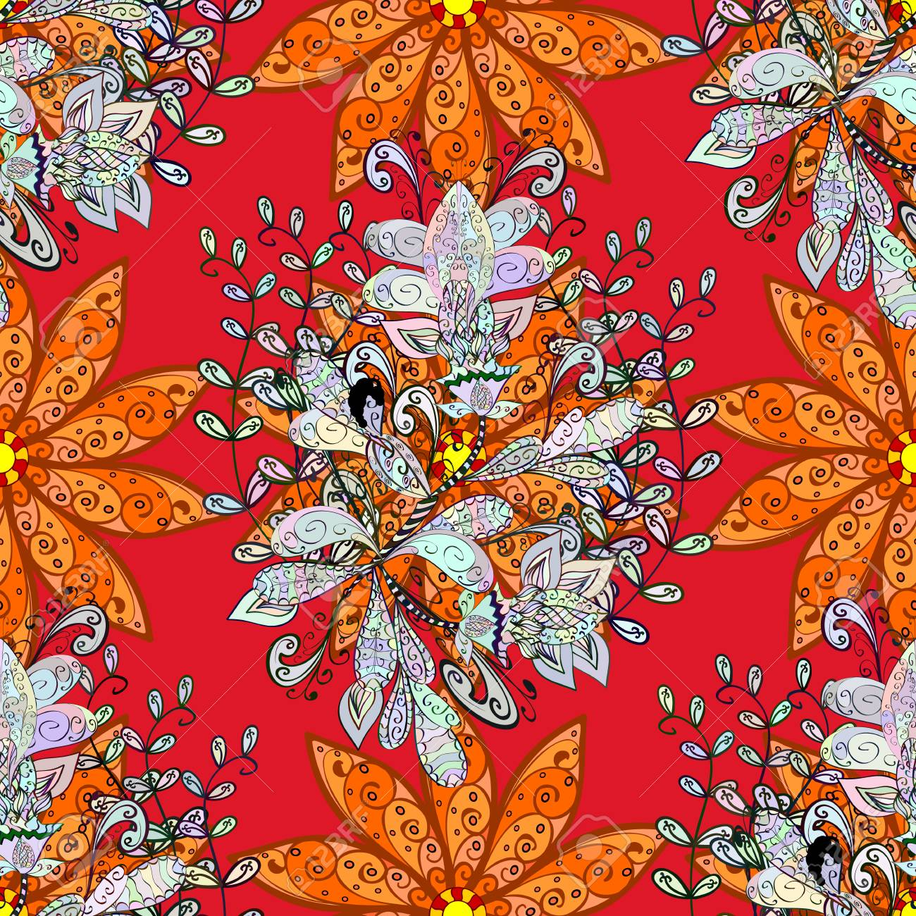 The Elegant The Template For Fashion Prints Modern Floral
