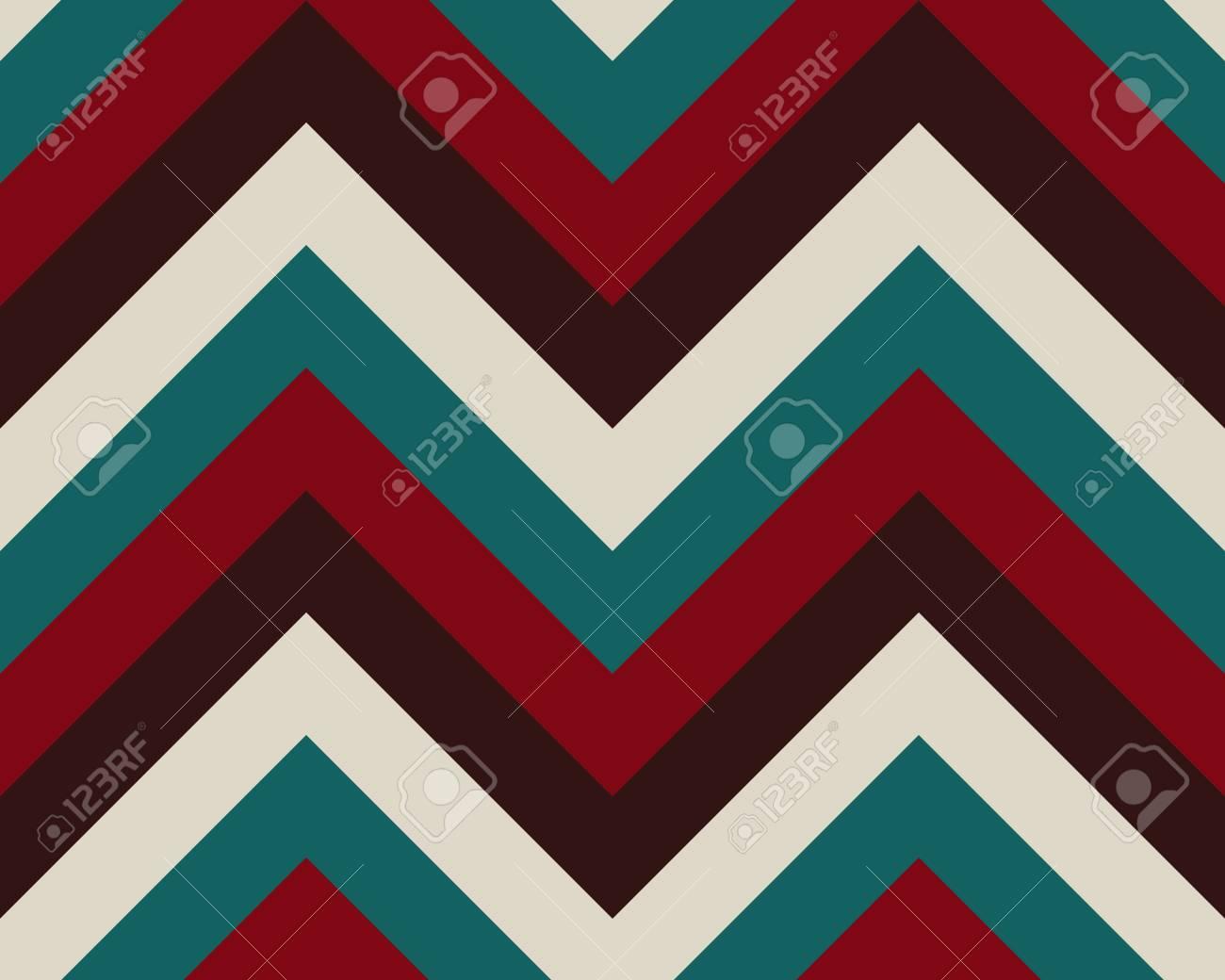 Zigzag line drawing : Striped zigzagging seamless pattern. zig zag line texture. stripy