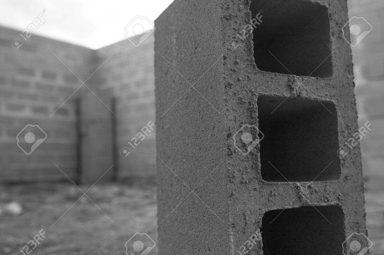 New House Construction Building Foundation Walls Using Concrete Stock Photo Picture And Royalty Free Image Image 60022760