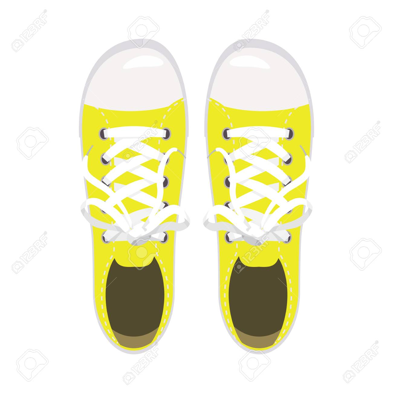 Sports Shoes, Gym Shoes, Keds Yellow