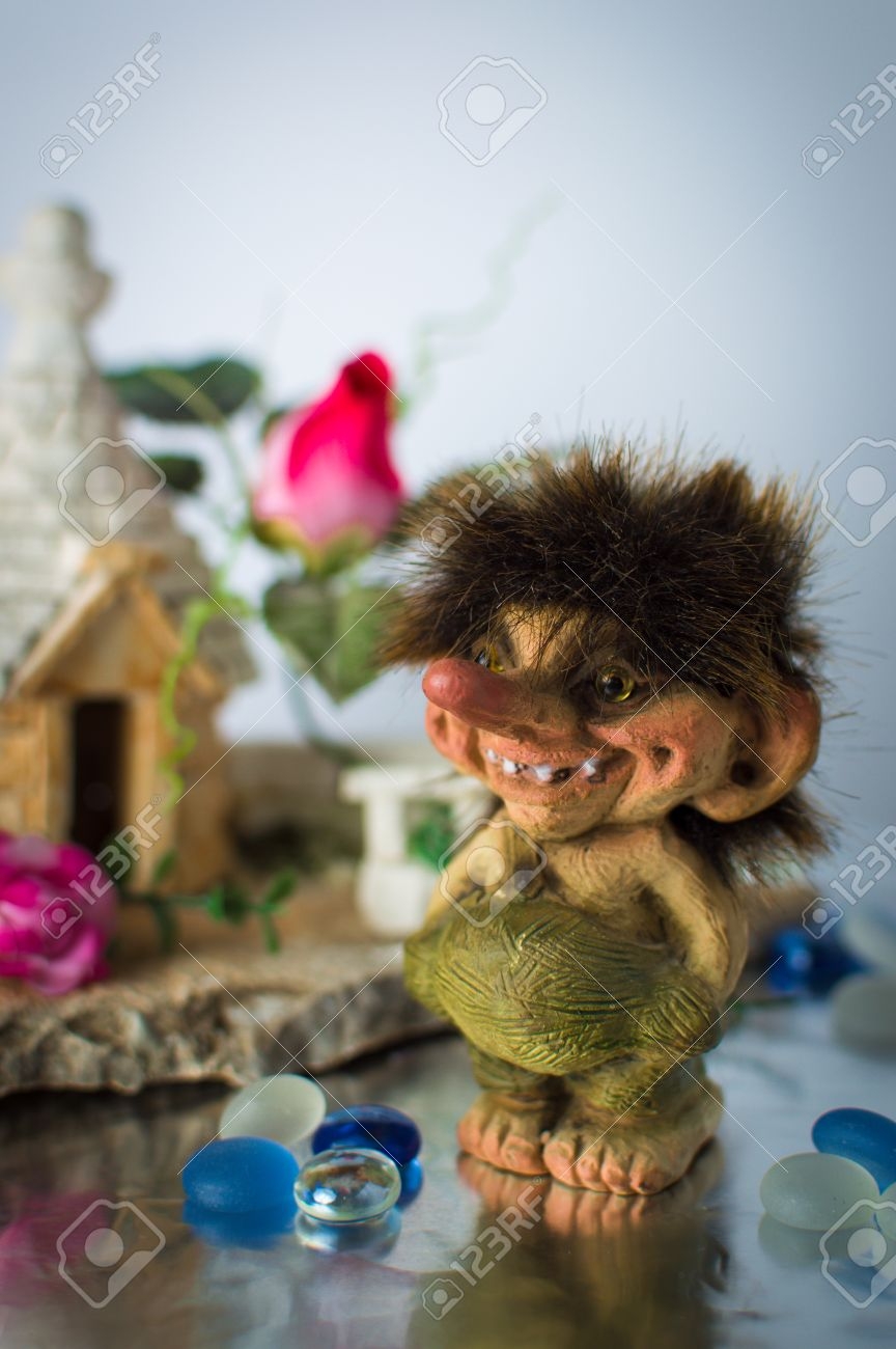 Statuette Of Norwegian Trolls Stock Photo Picture And Royalty Free Image Image 47460745