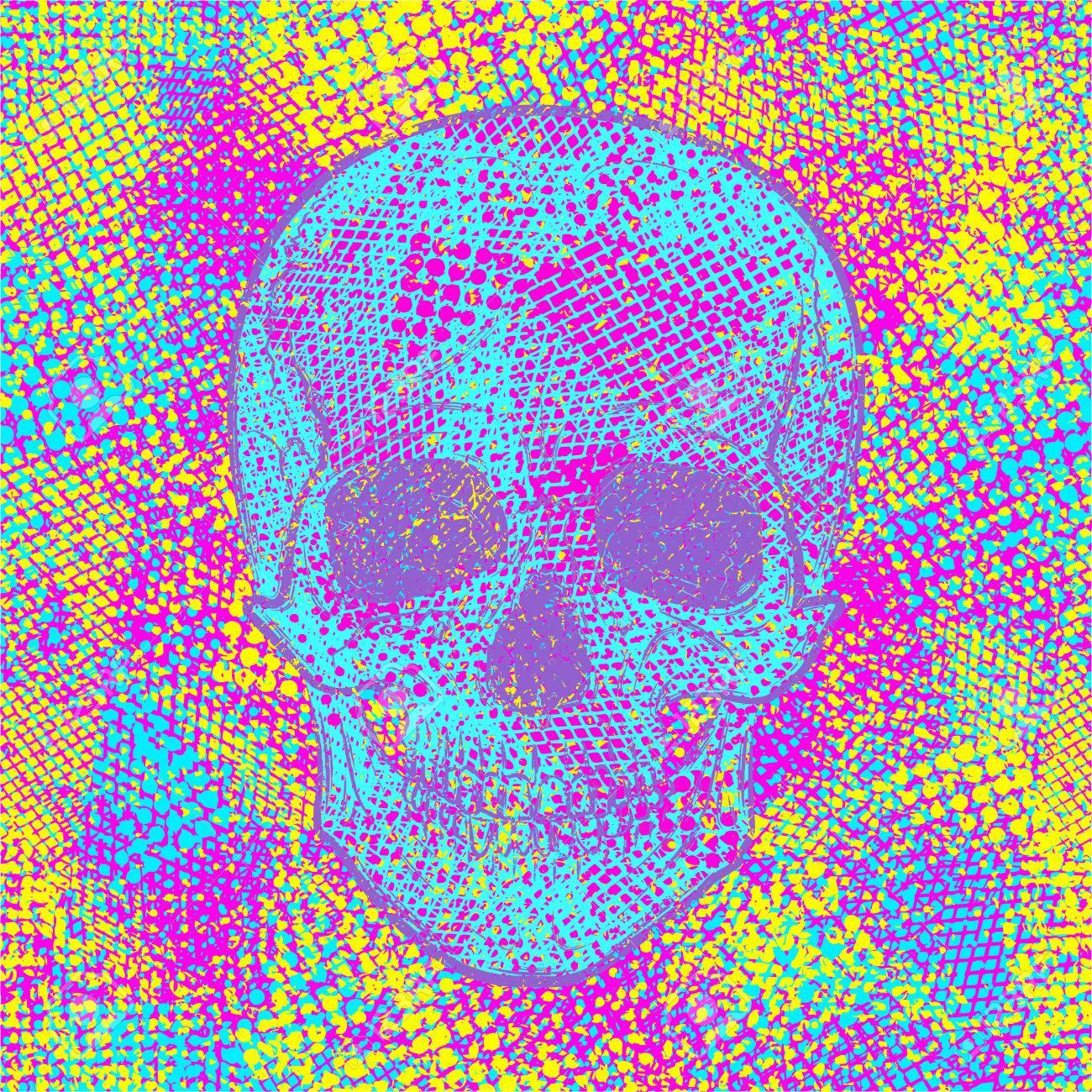 Excelente Diseño Fresco Del Cráneo Para Colorear Ideas - Dibujos ...