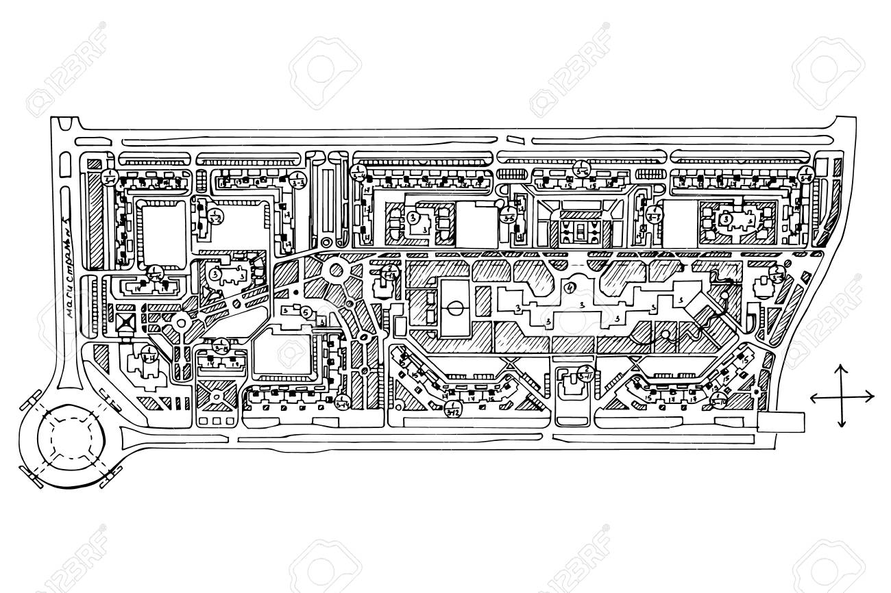 Urban plan of a city, old village. Doodle city map. Vector city.. on bridge street map, road map, parking lot map, jackson street map, a street art, a street intersection, washington street map, weather map, state map, detailed street map, physical map,