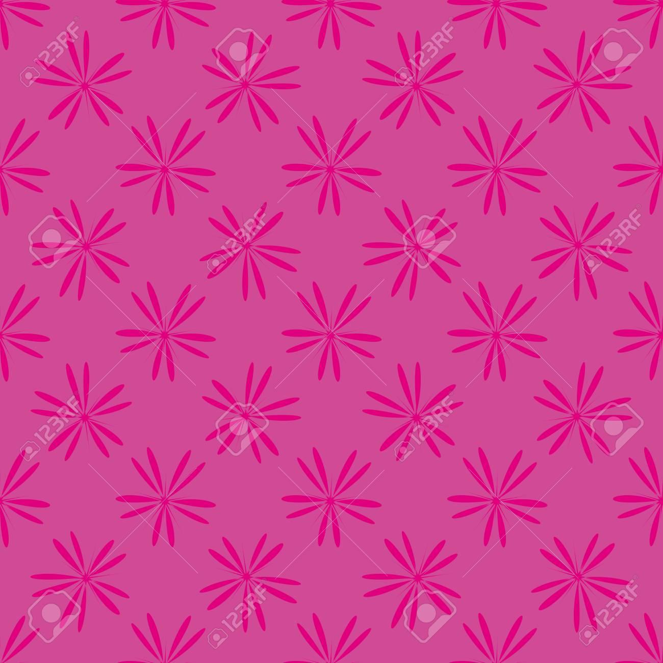 ピンクの花のシームレスなパターン ファッション ナチュラルな