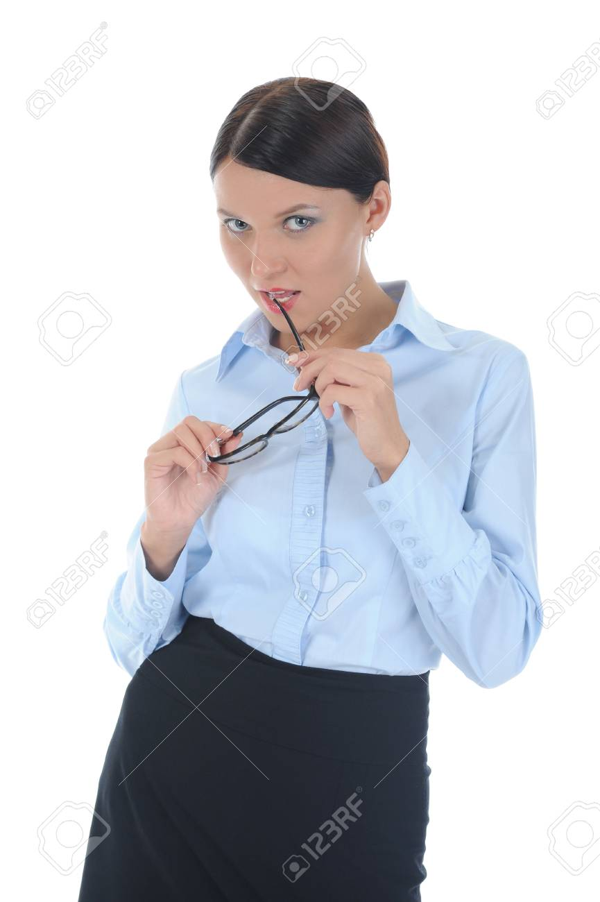 Portrait of a young  businesswoman. Stock Photo - 8734582