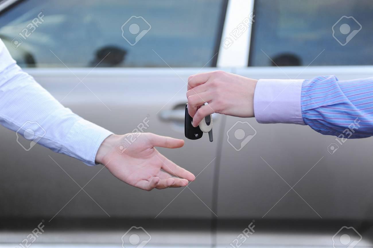 keys to the car Stock Photo - 8736498