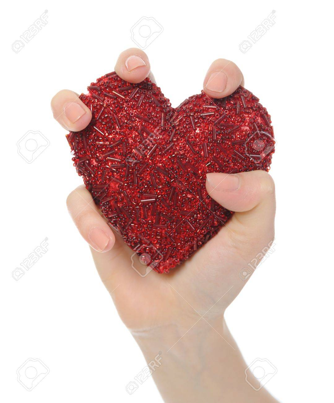 heart in hand Stock Photo - 8889636