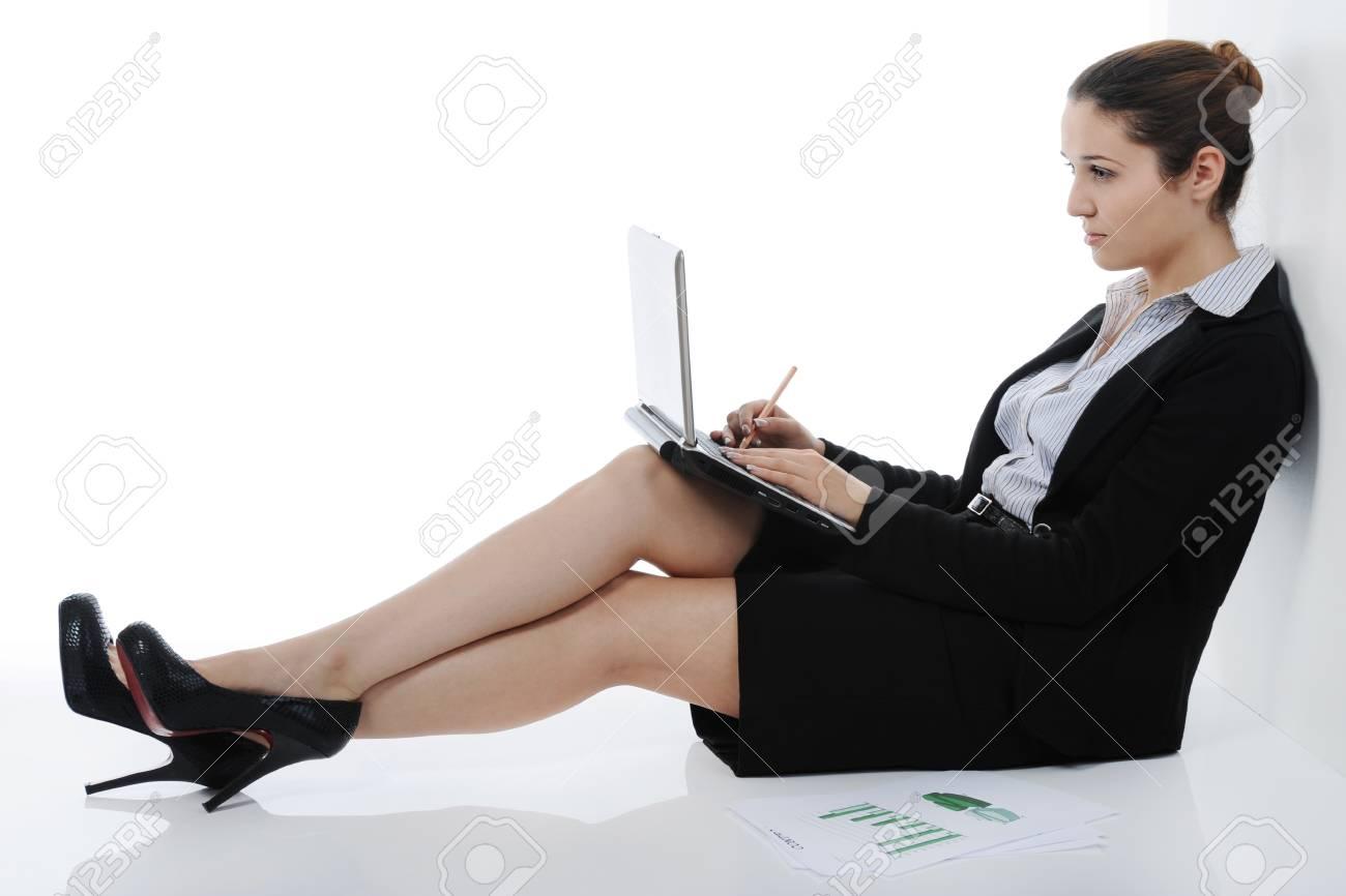 Portrait of business woman. Stock Photo - 8891857