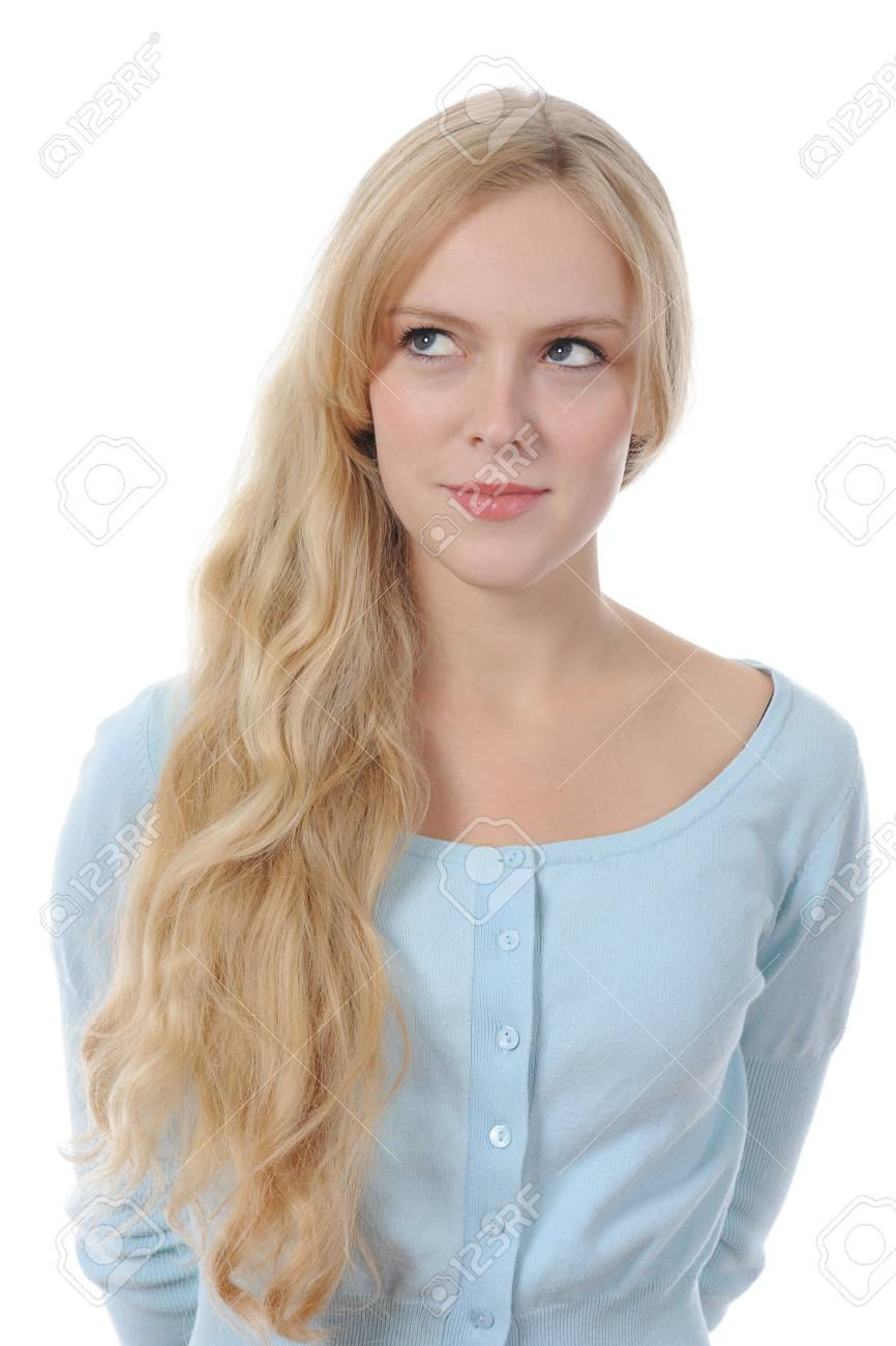 Smiling young woman Stock Photo - 8892558