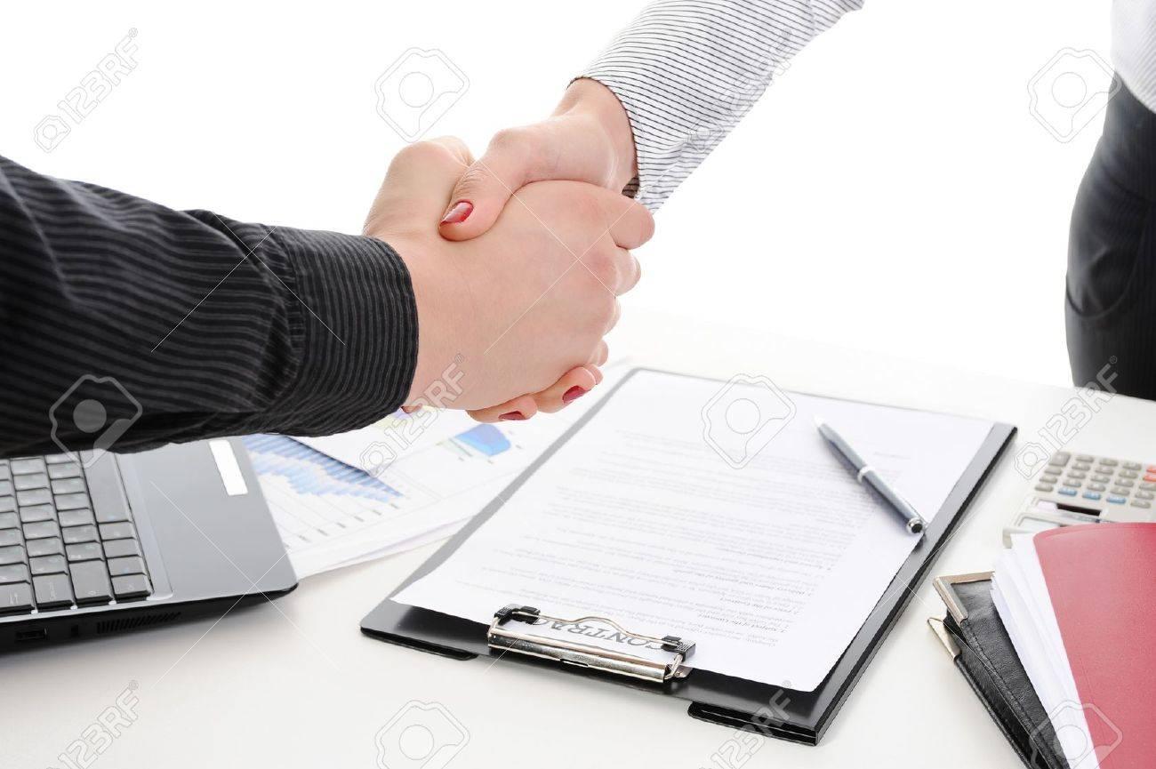 Handshake Stock Photo - 8954770