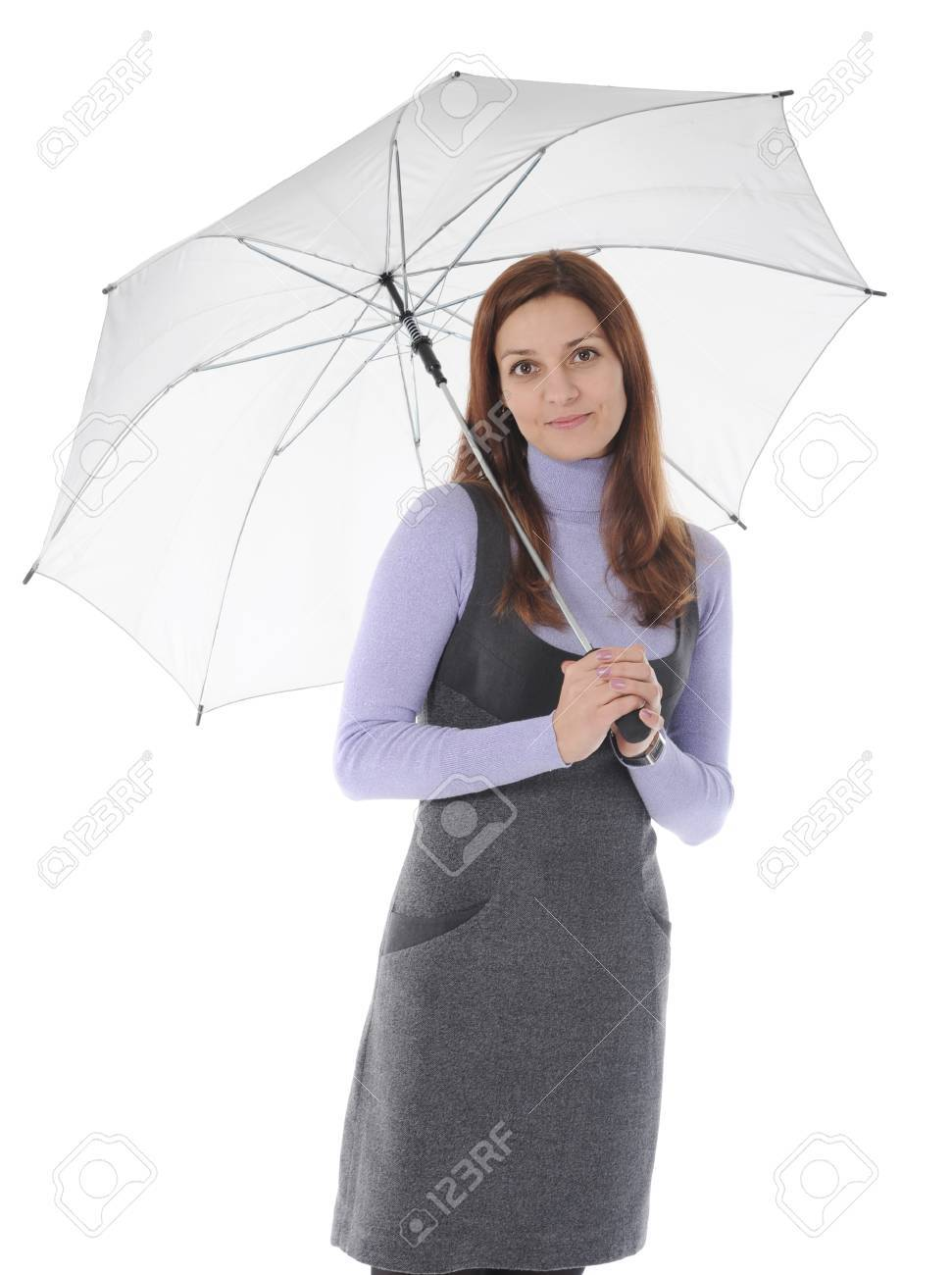Image of a businessman with umbrella Stock Photo - 8954744