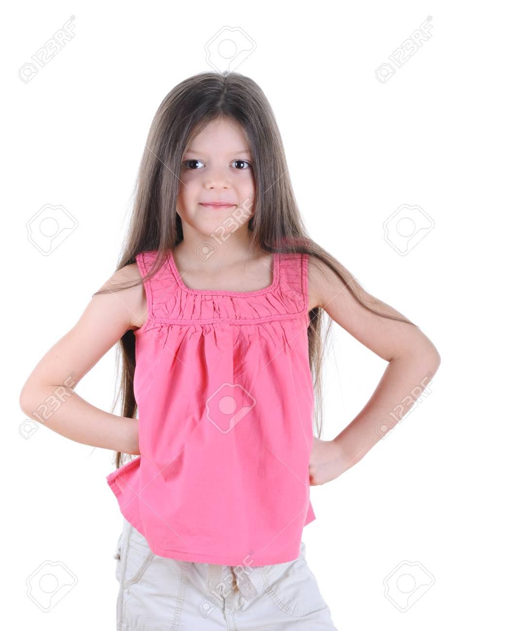 Little girl posing Stock Photo - 8954832