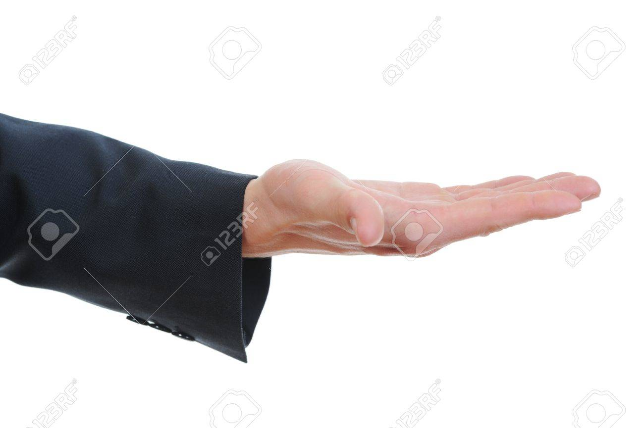 human hand held up. Stock Photo - 9126297