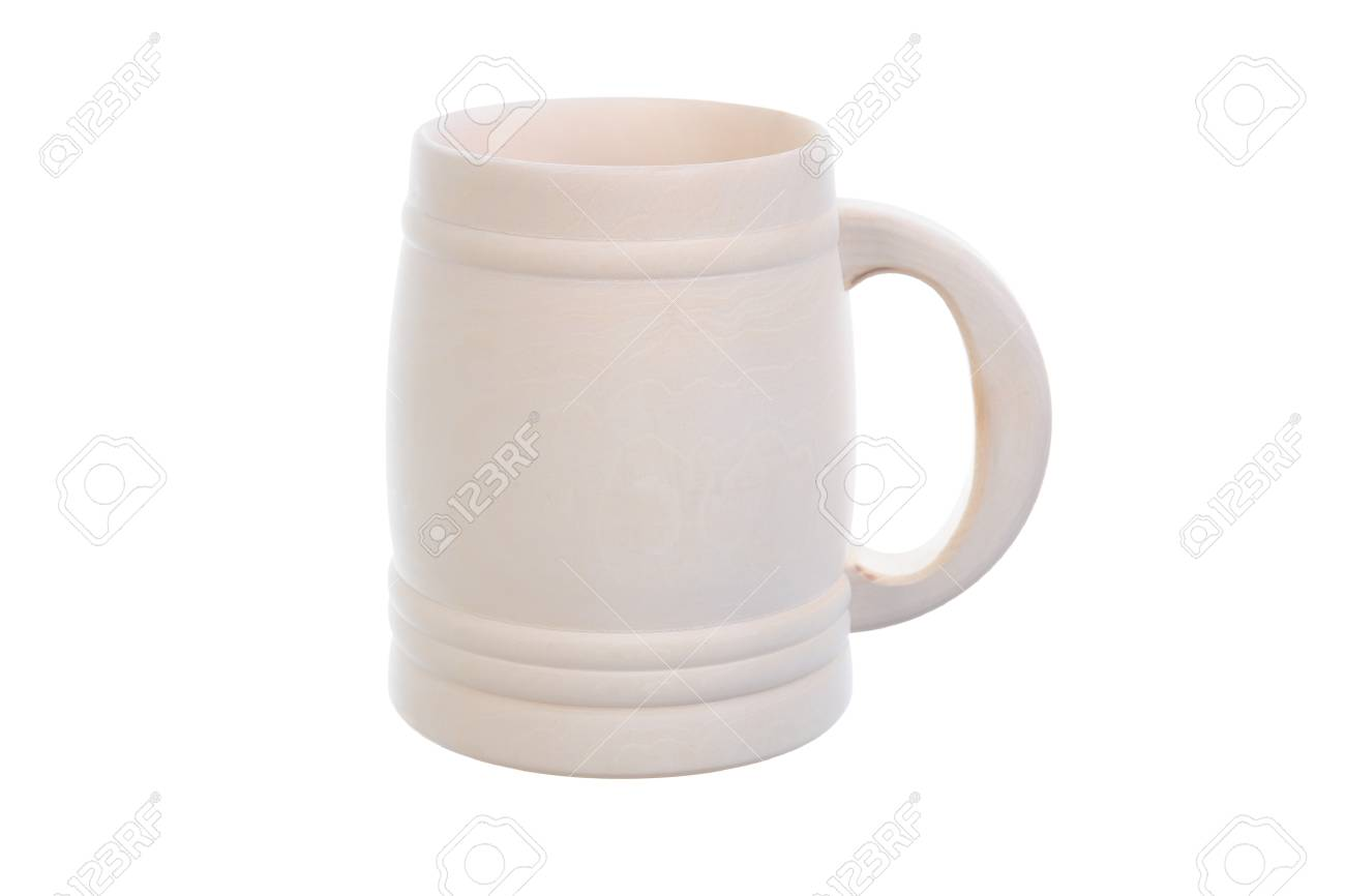 Image of a wooden beer mug Stock Photo - 9379740