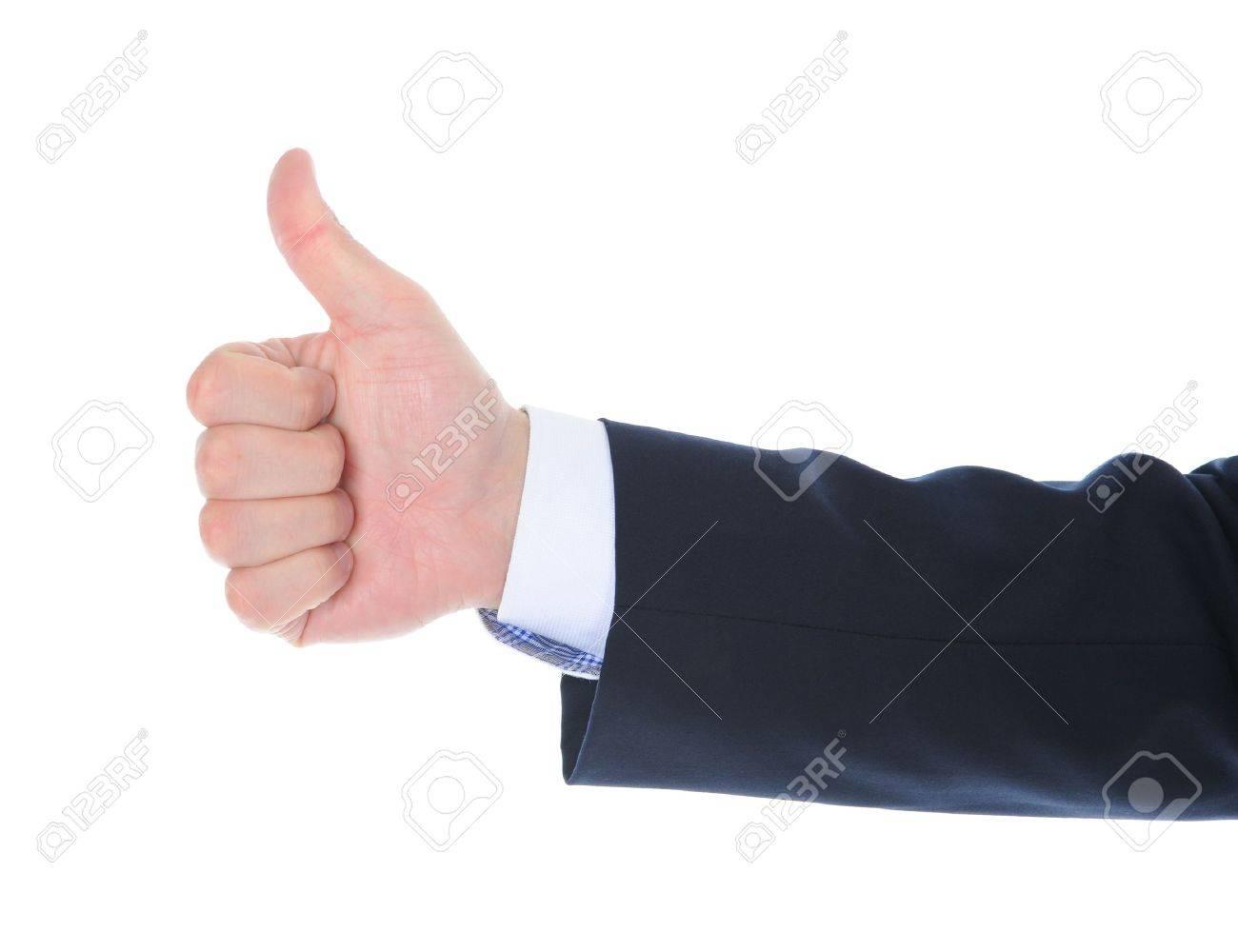 human hand tumb Stock Photo - 9951937
