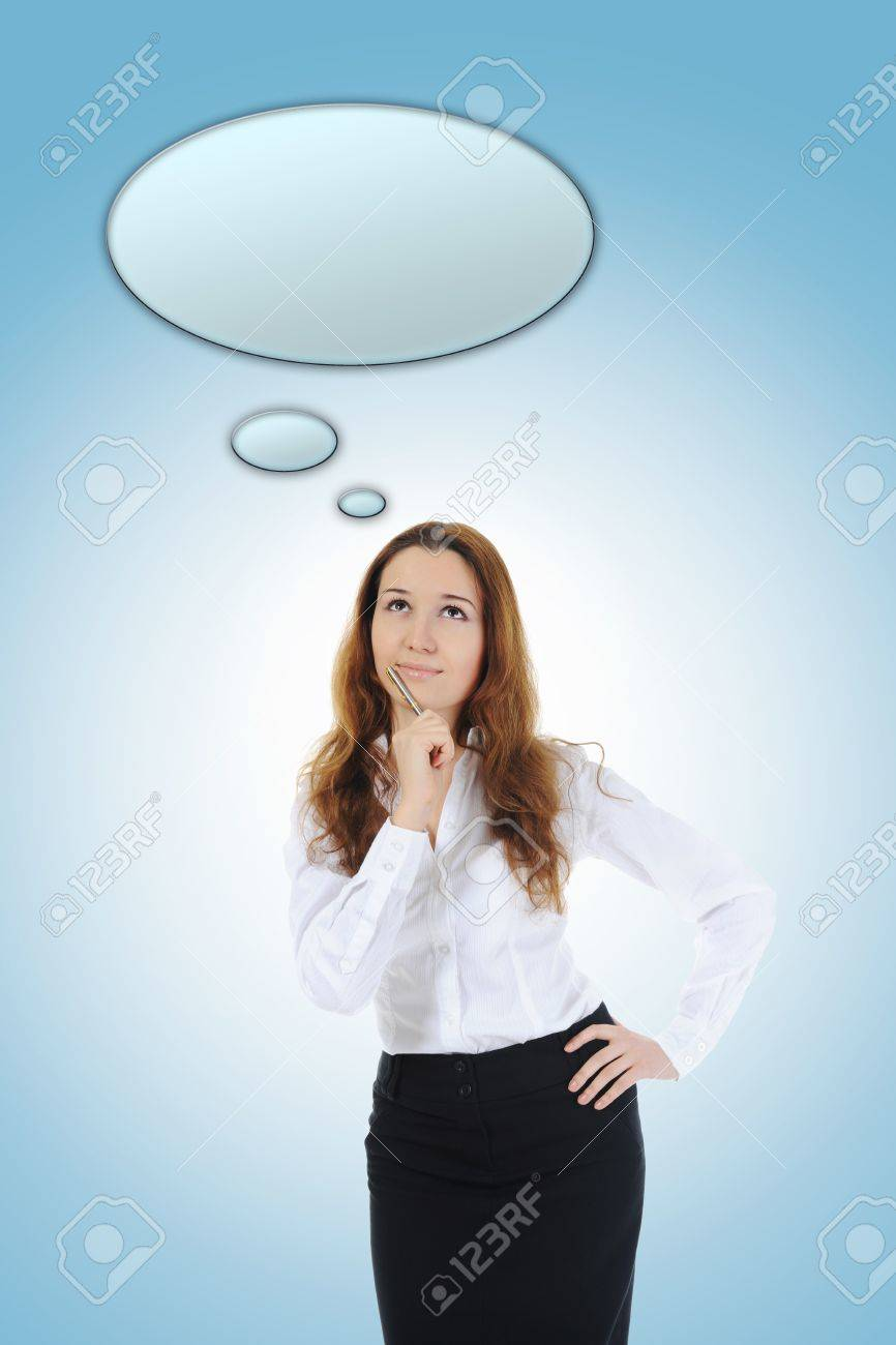 Portrait of a young  businesswoman. Stock Photo - 10544783