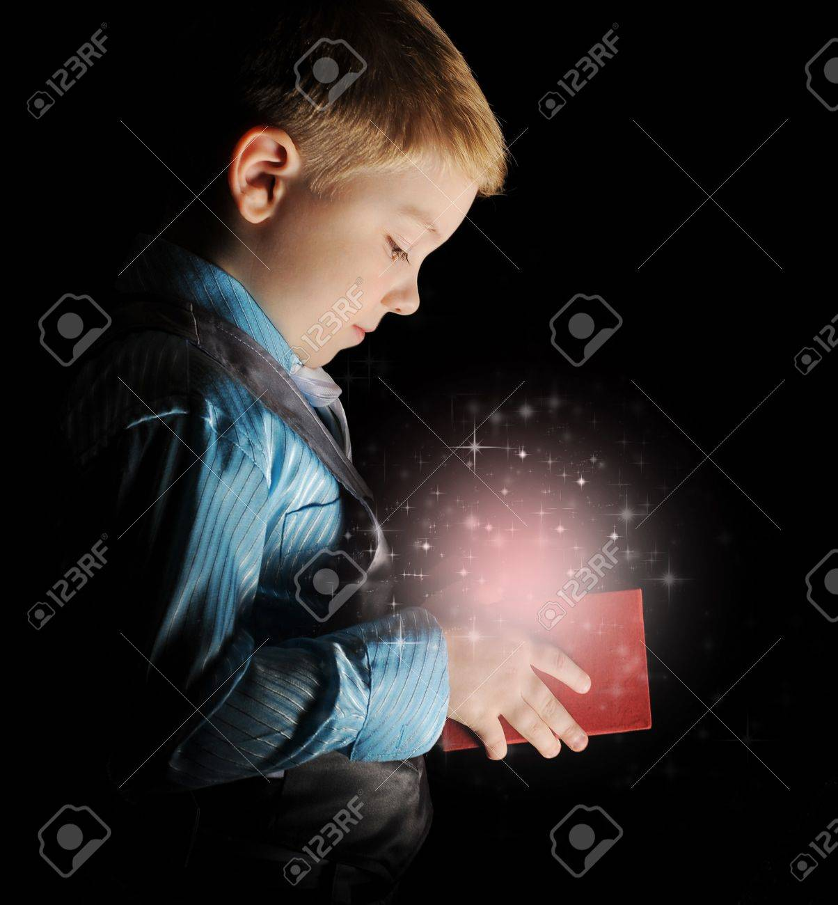 gift in magic packing Stock Photo - 14002560