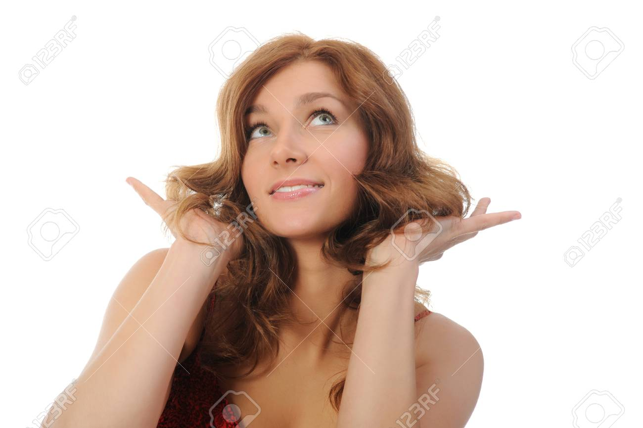 attractive smiling woman Stock Photo - 14023765