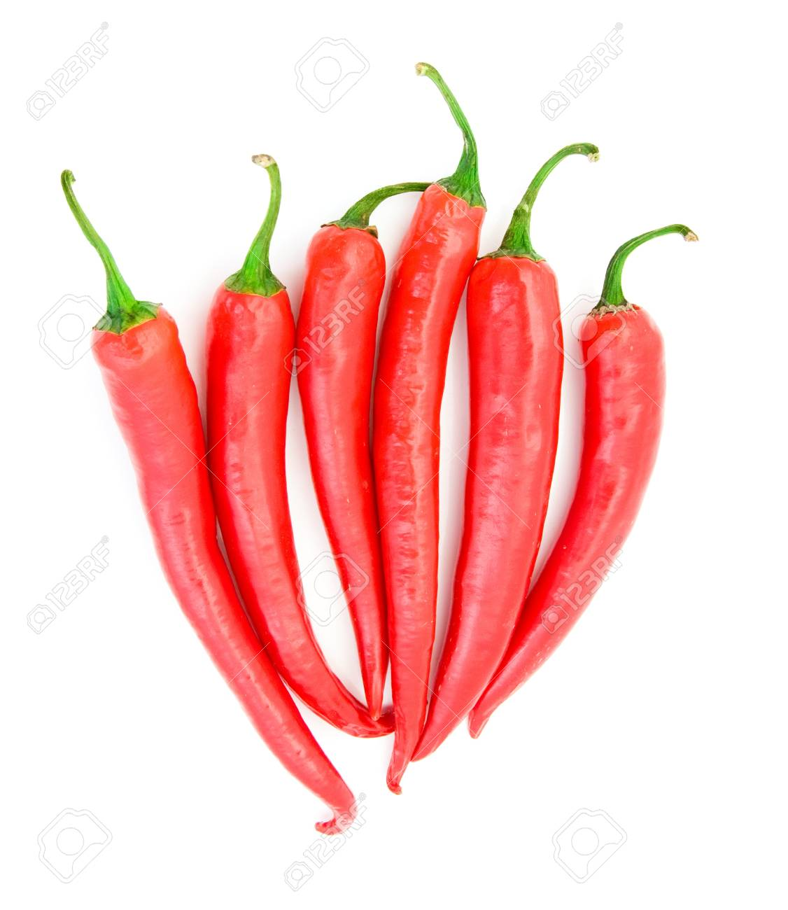 Chili pepper isolated on white background Stock Photo - 8831040