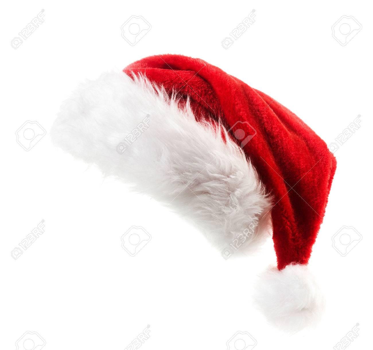 Santa hat isolated on white background - 32990255
