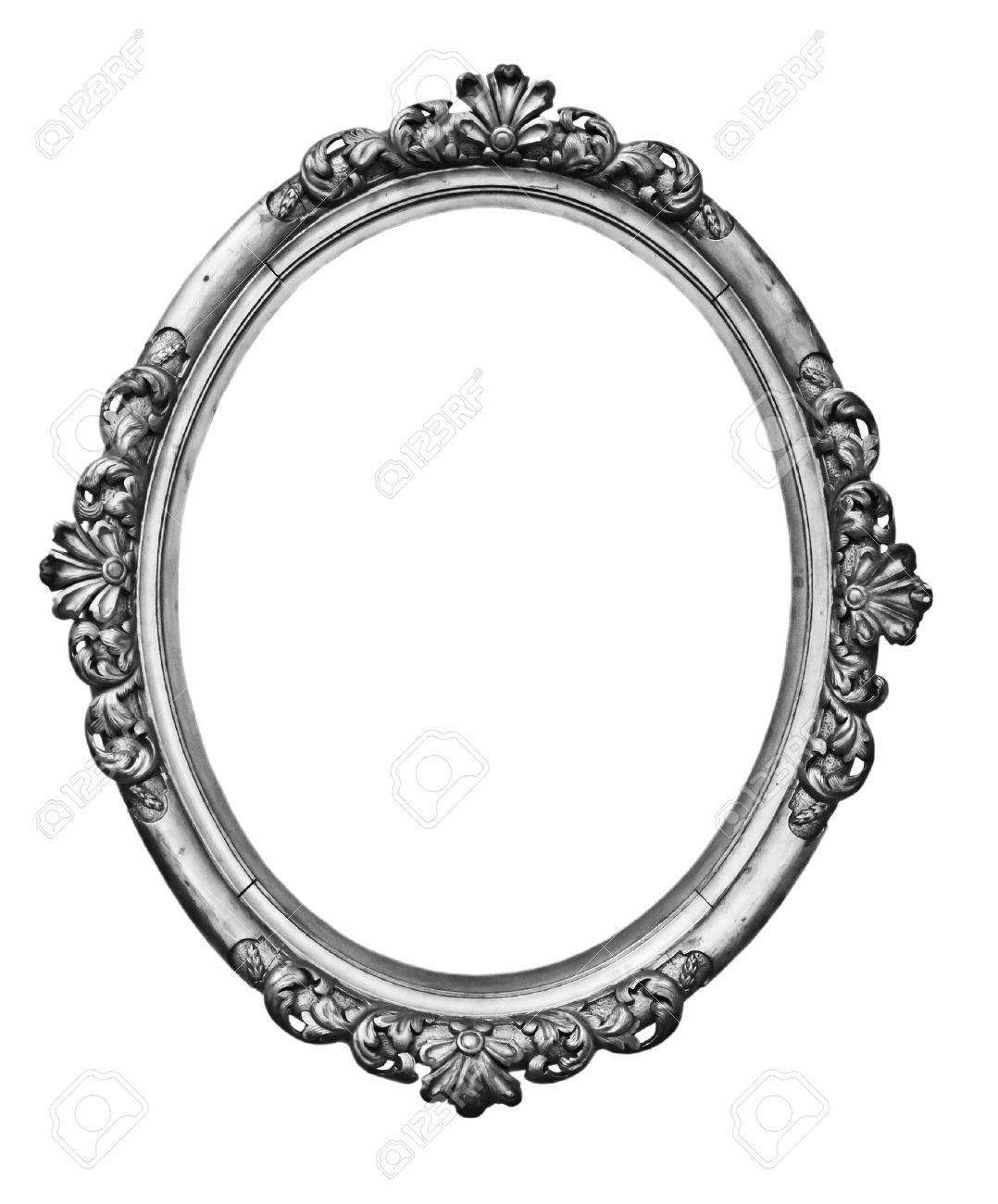 Vintage silver oval frame stock photo picture and royalty free vintage silver oval frame stock photo 33778745 jeuxipadfo Images