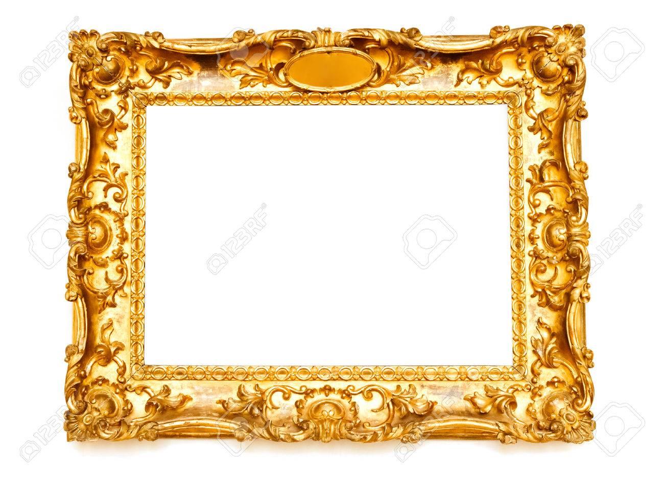 Golden frame - 46745965