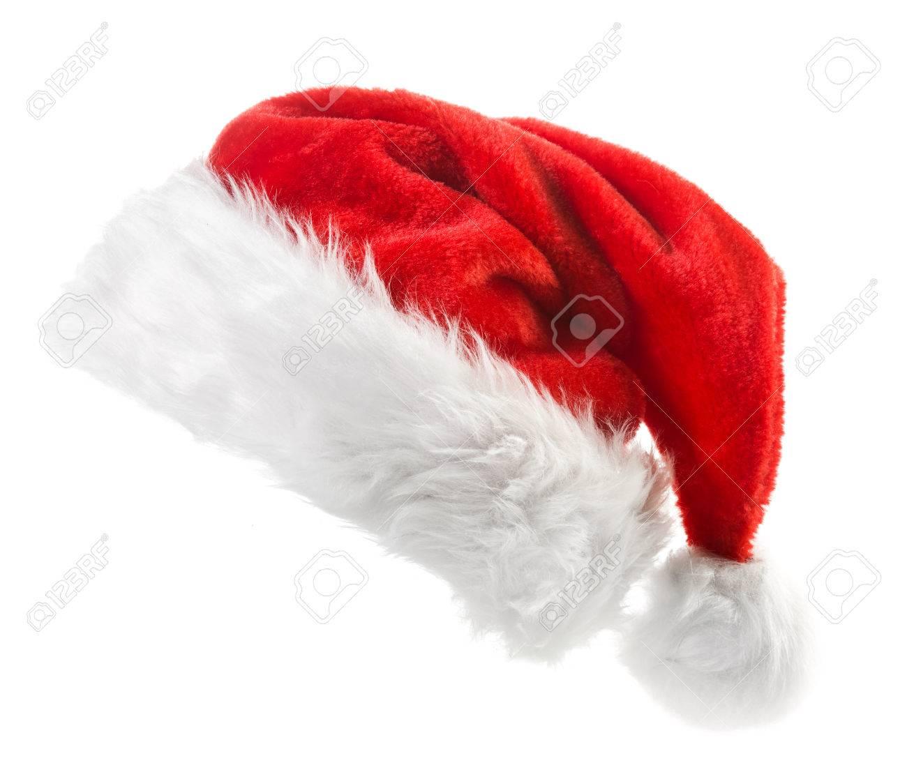 Santa hat isolated on white background - 47476498