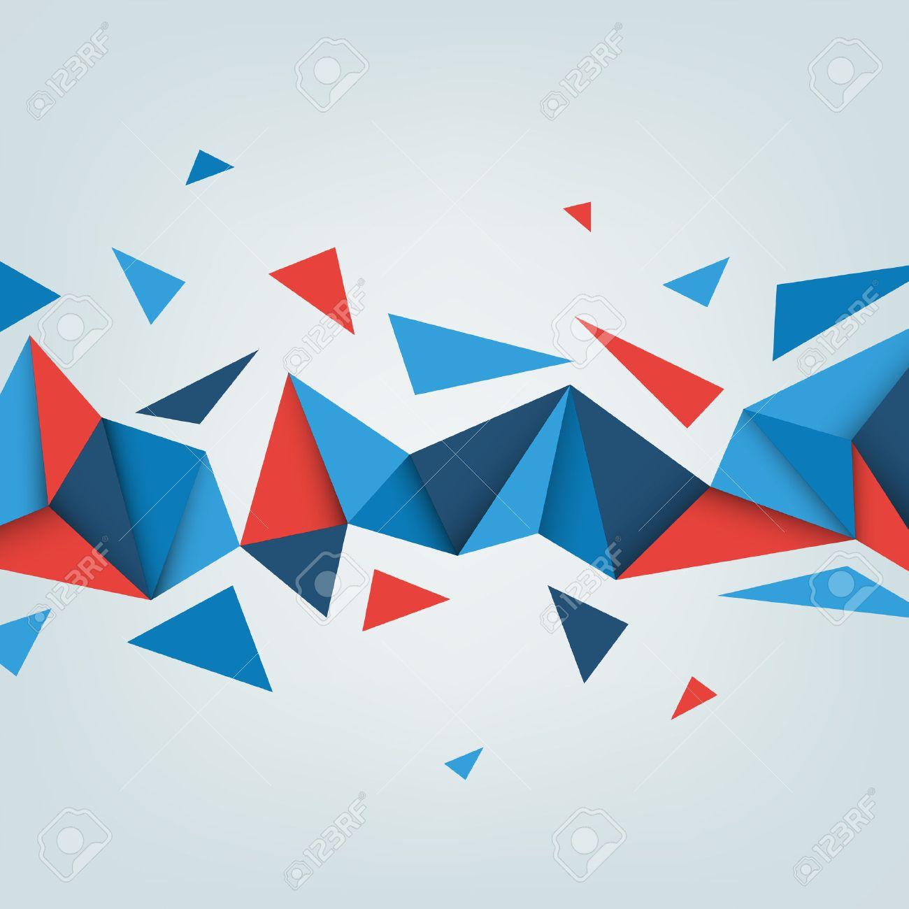 低ポリのベクトルの背景。三角形の抽象的なテクスチャのイラスト
